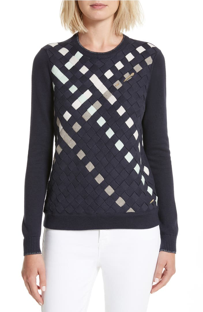 Ted Baker London сумка : Ted baker london yessica lattice front sweater nordstrom