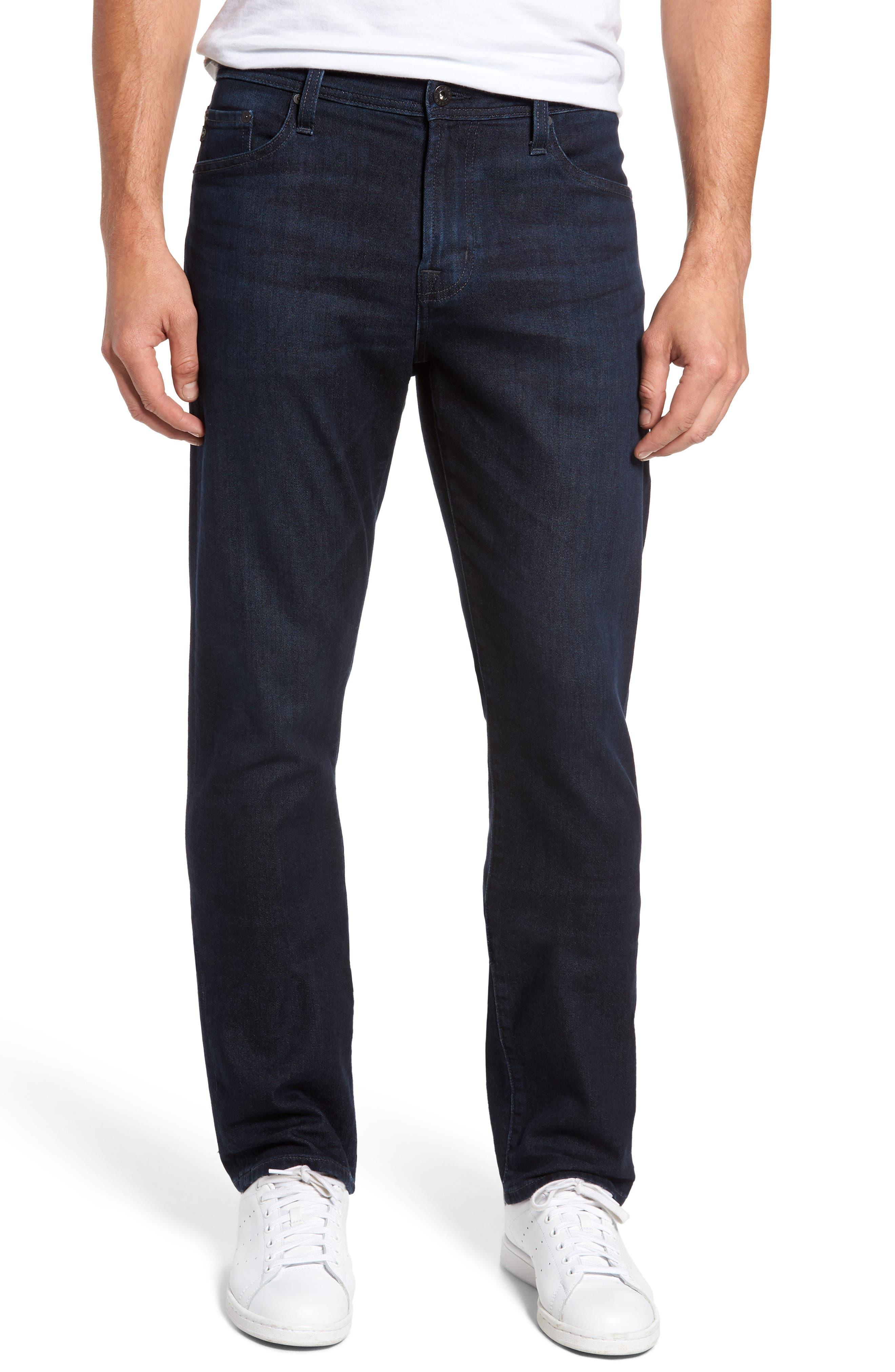Alternate Image 1 Selected - AG Everett Slim Straight Fit Jeans (Regulator)