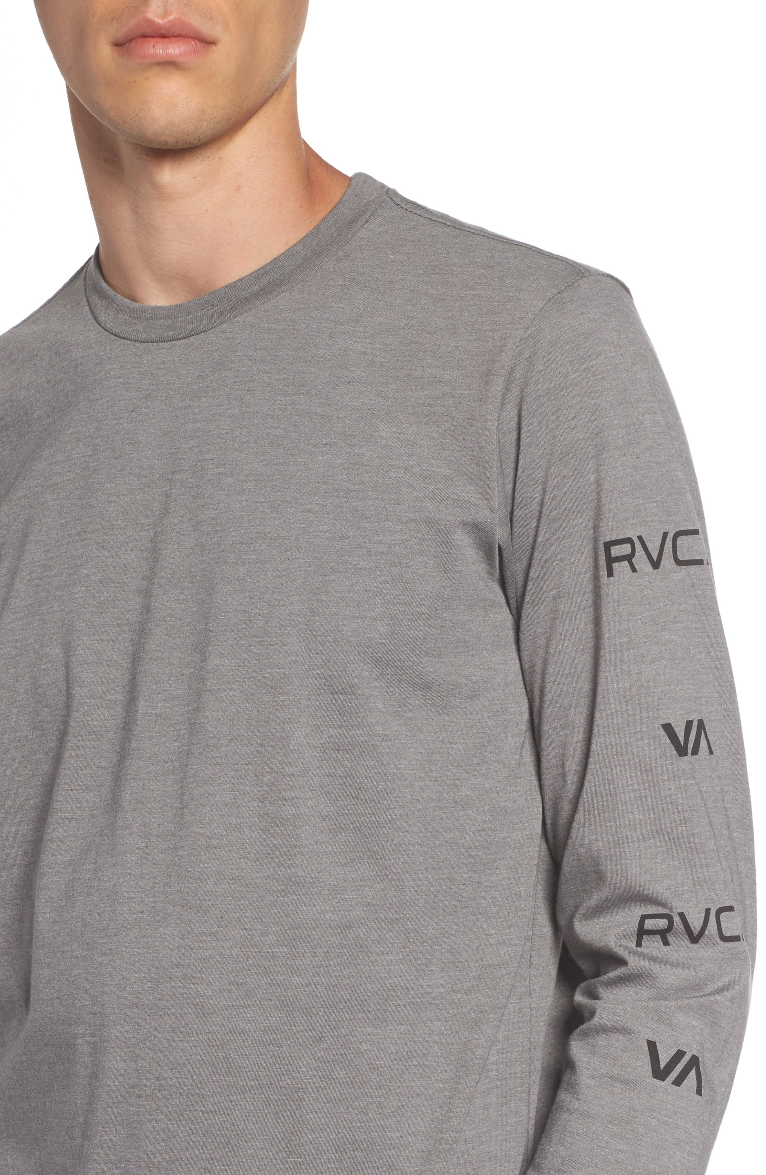 Alternate Image 4  - RVCA Brand Stack Graphic T-Shirt