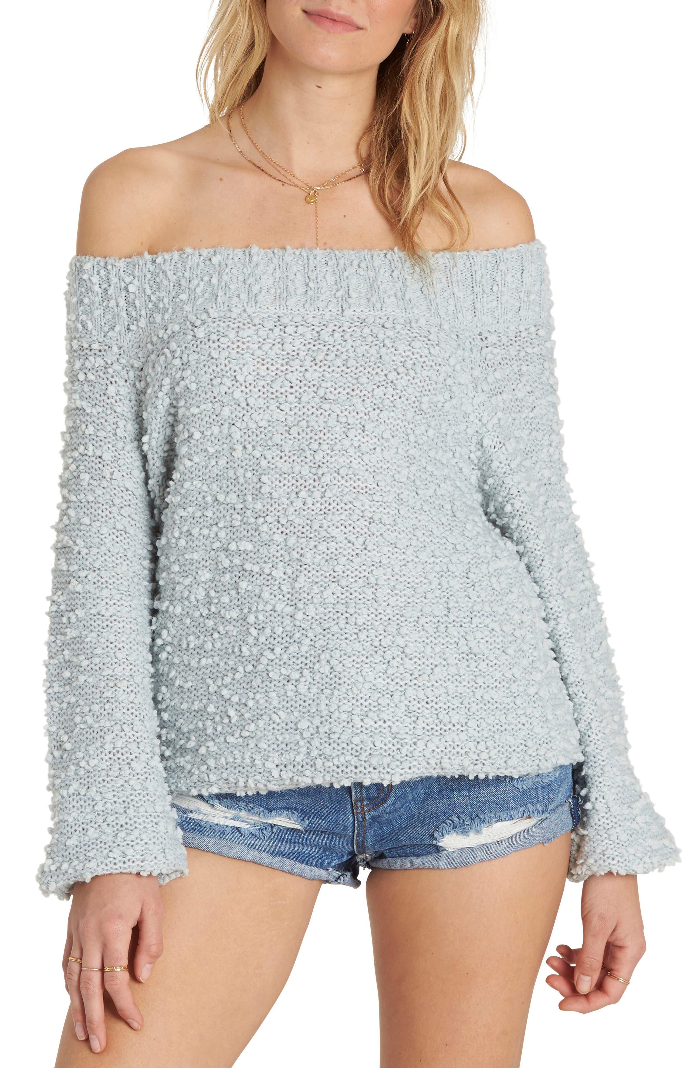 Alternate Image 1 Selected - Billabong Furget Me Not Sweater