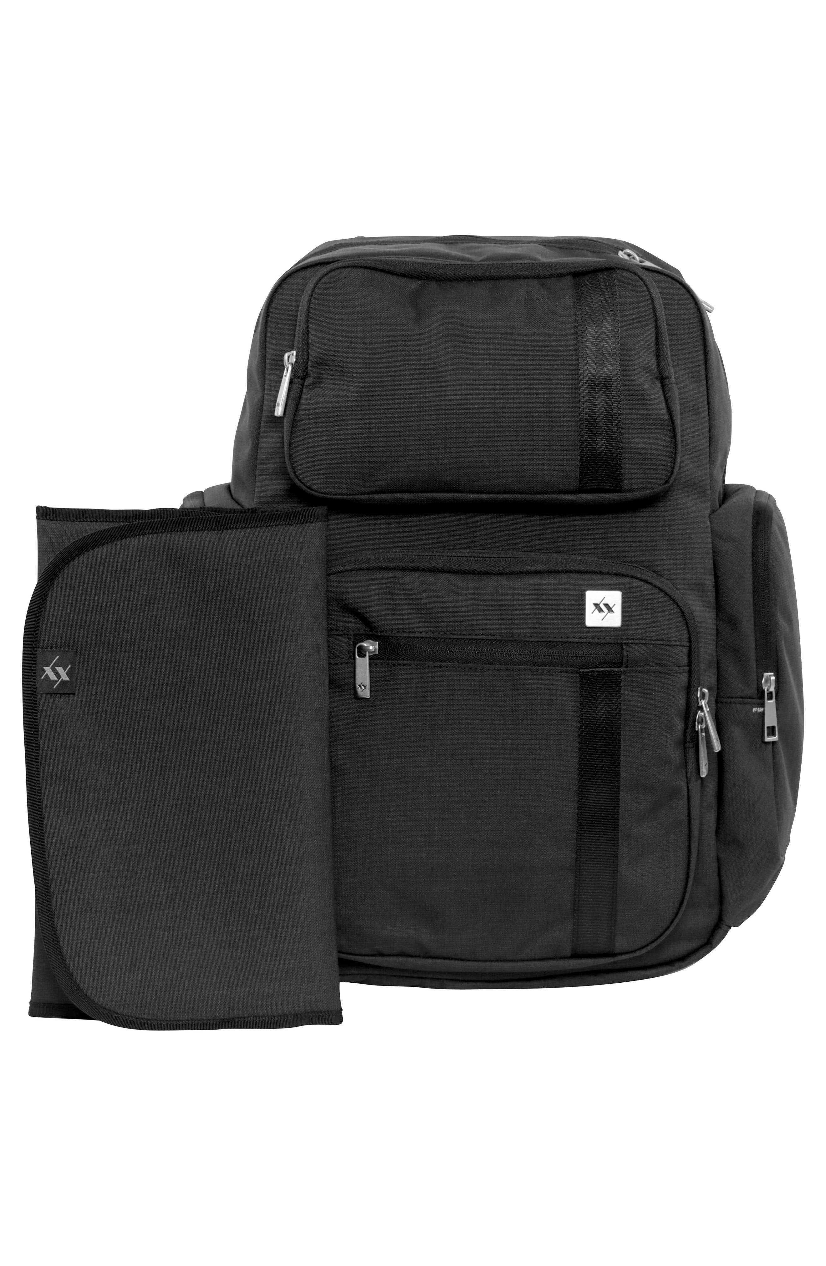 XY Vector Diaper Backpack,                             Alternate thumbnail 5, color,                             Carbon