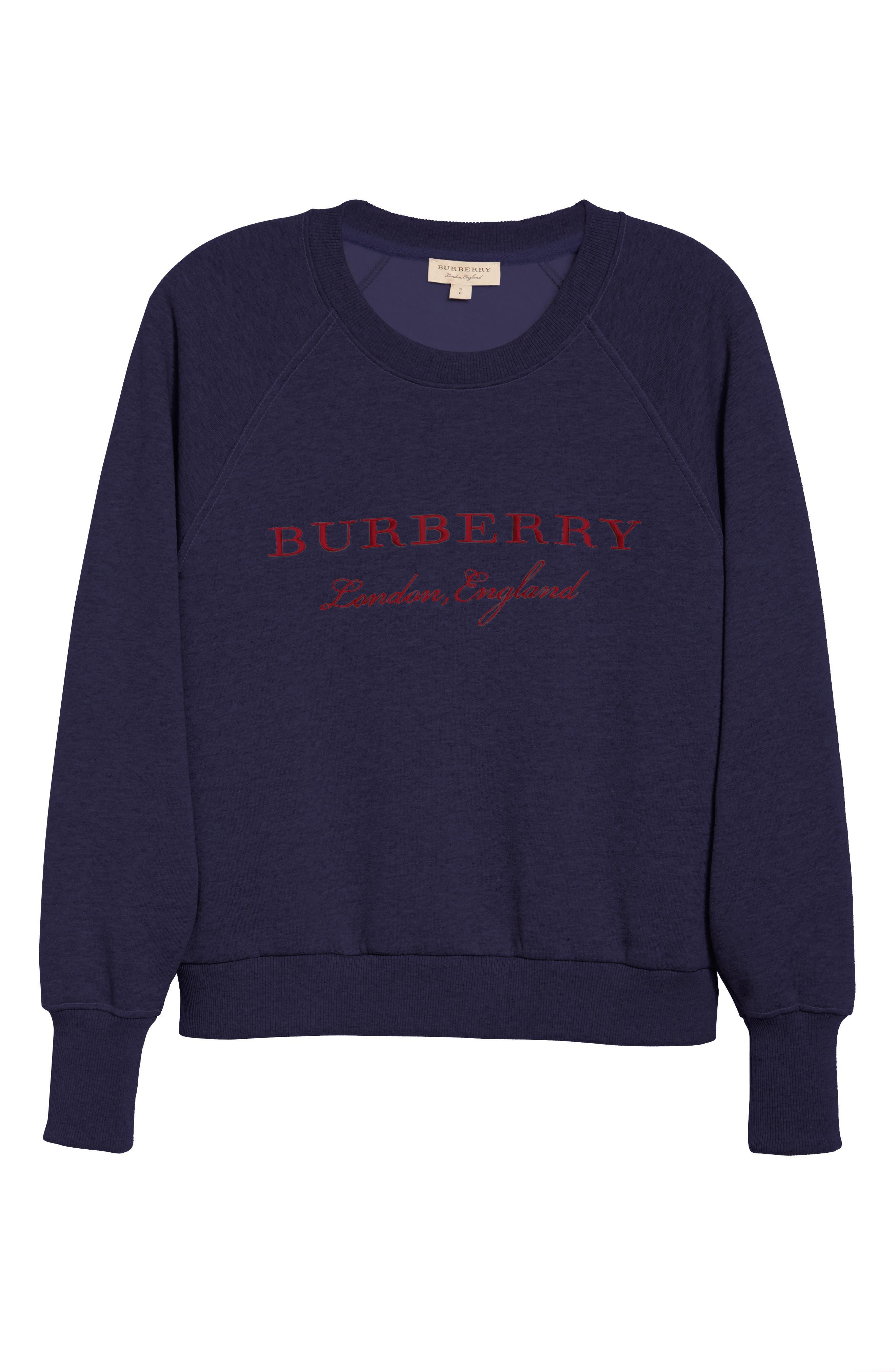 Alternate Image 6  - Burberry Torto Embroidered Sweatshirt