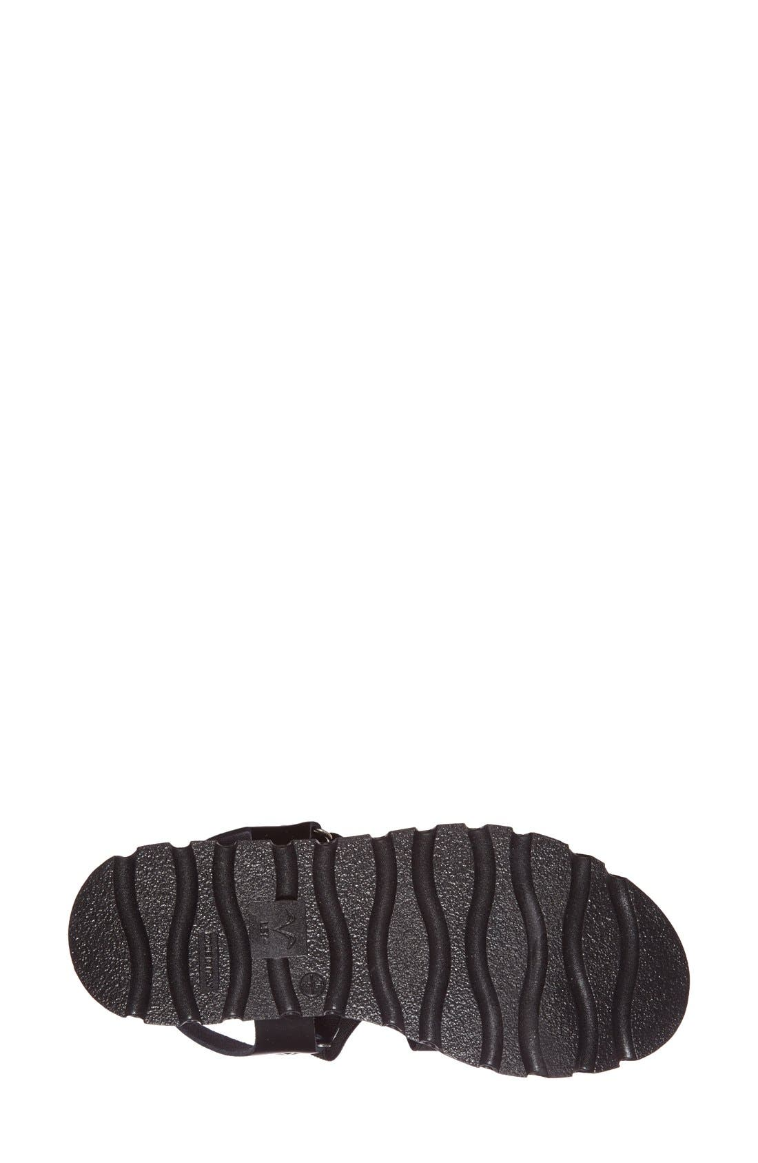 Alternate Image 4  - Topshop 'Folly' Strappy Platform Sandal (Women)