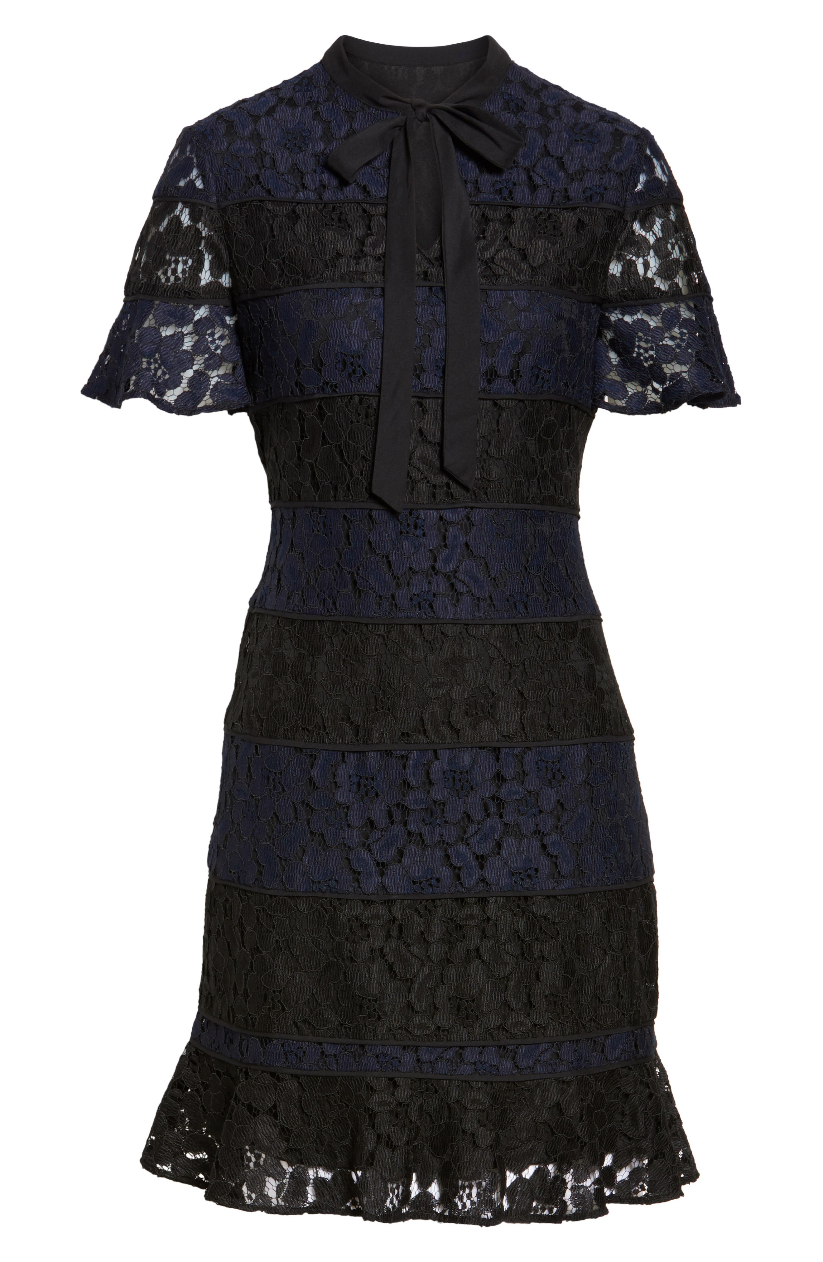 Alternate Image 6  - Julia Jordan Lace Fit & Flare Dress