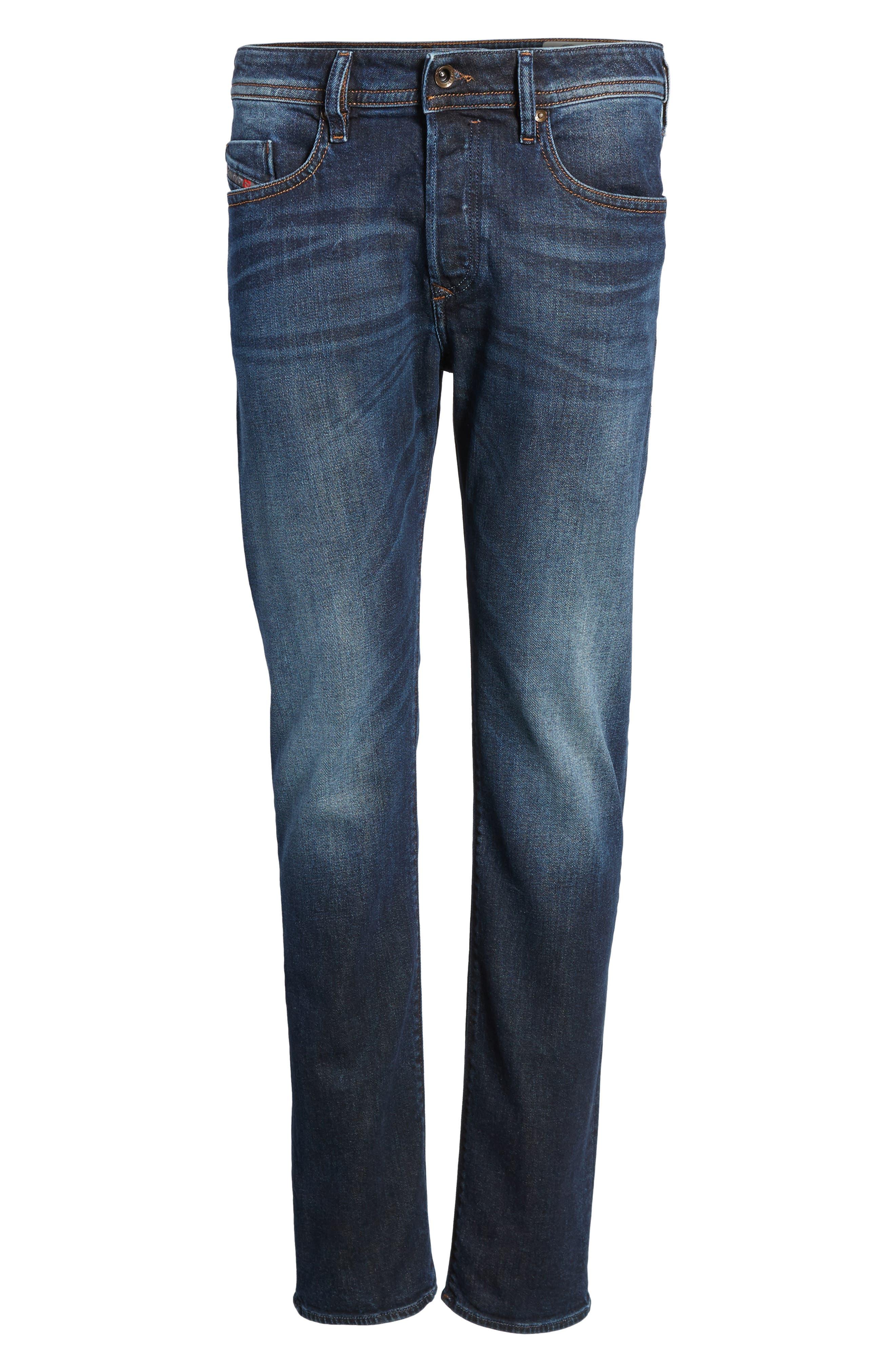 DIESEL® Buster Slim Straight Leg Jeans (0857Y)