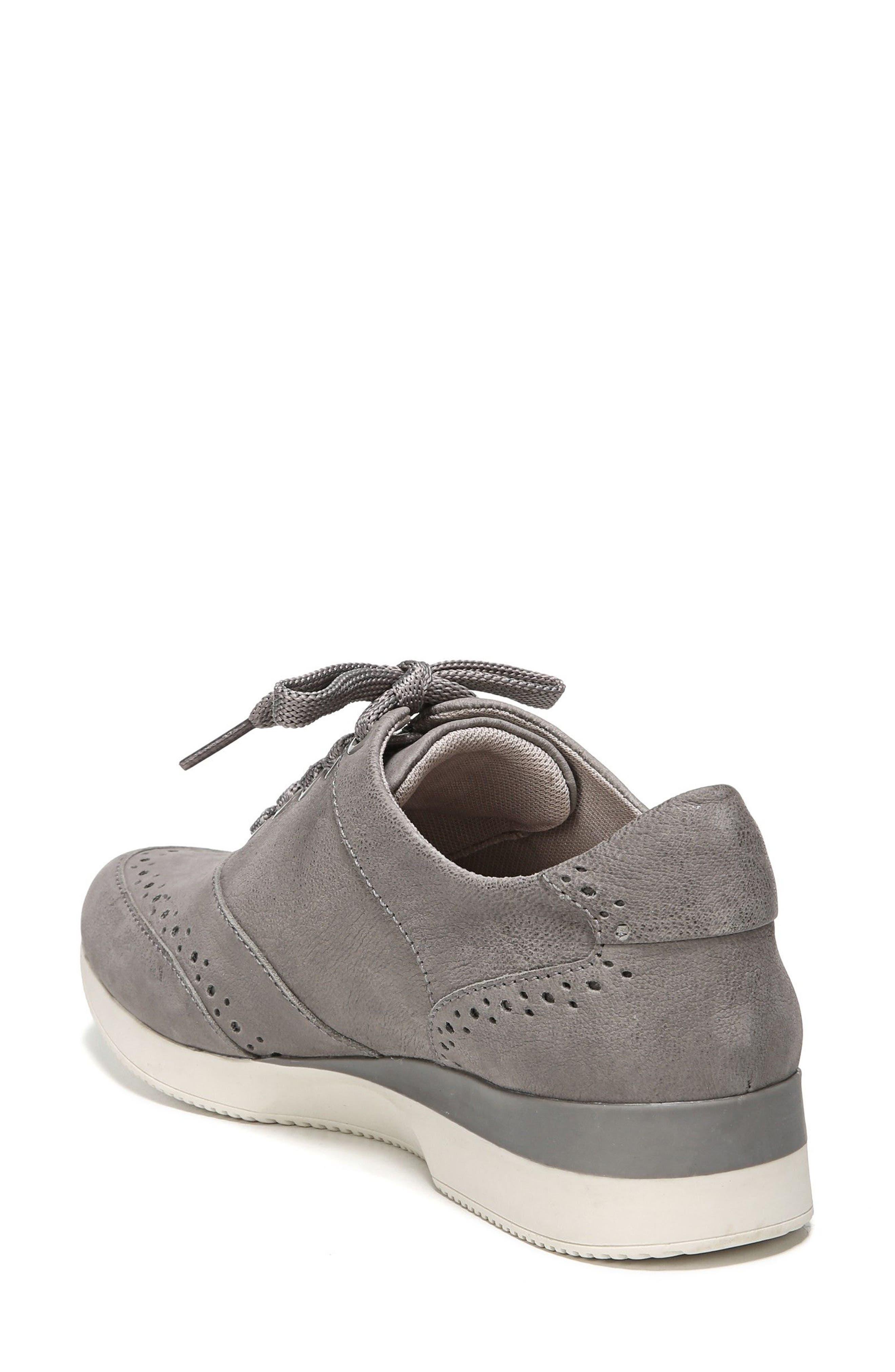 Jimi 2 Perforated Sneaker,                             Alternate thumbnail 2, color,                             Modern Grey Nubuck Leather