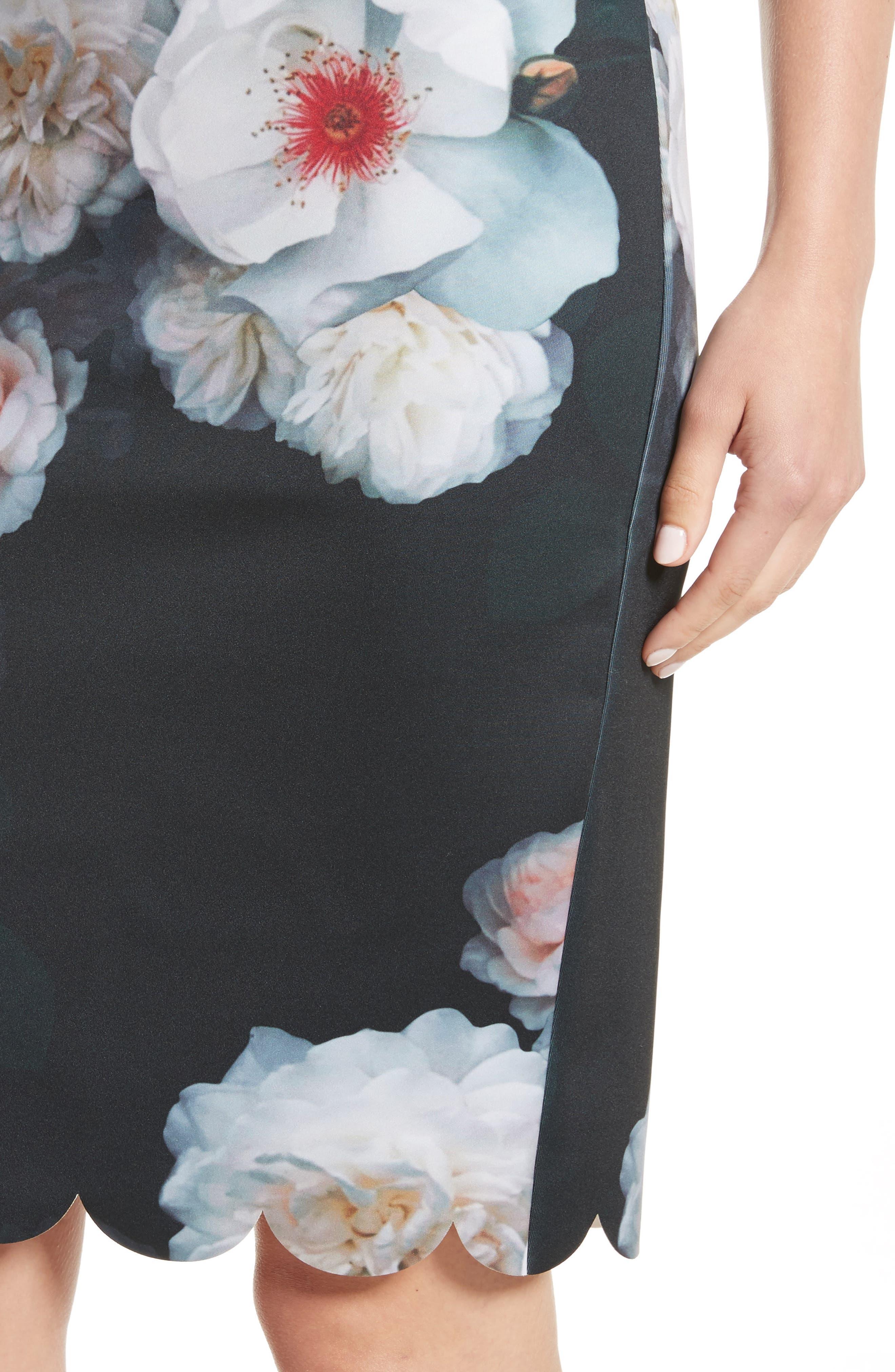 Alternate Image 4  - Ted Baker London Laylie Chelsea Print Pencil Skirt