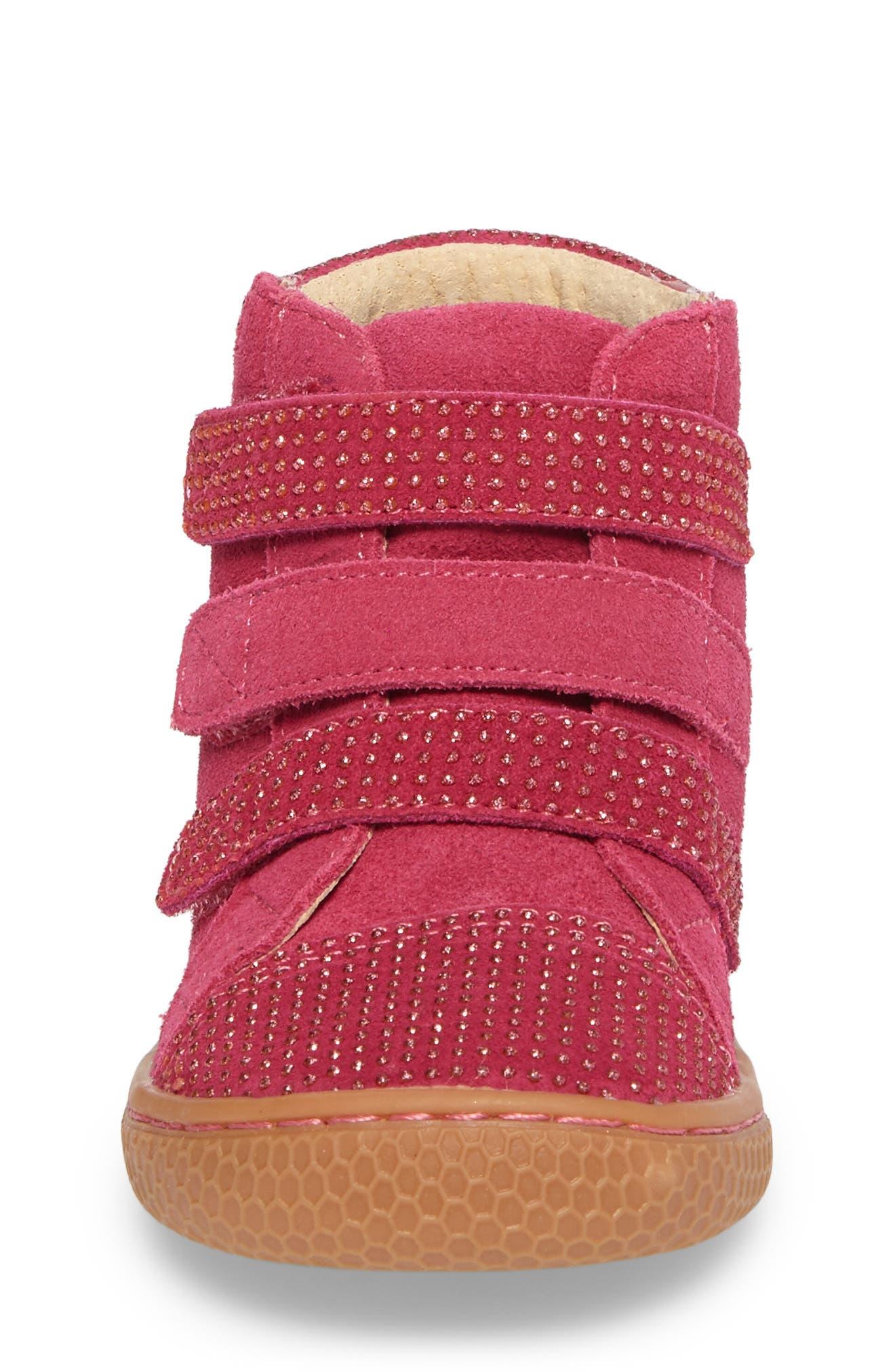 Alternate Image 4  - Livie & Luca 'Jamie' High Top Sneaker (Baby, Walker, Toddler & Little Kid)
