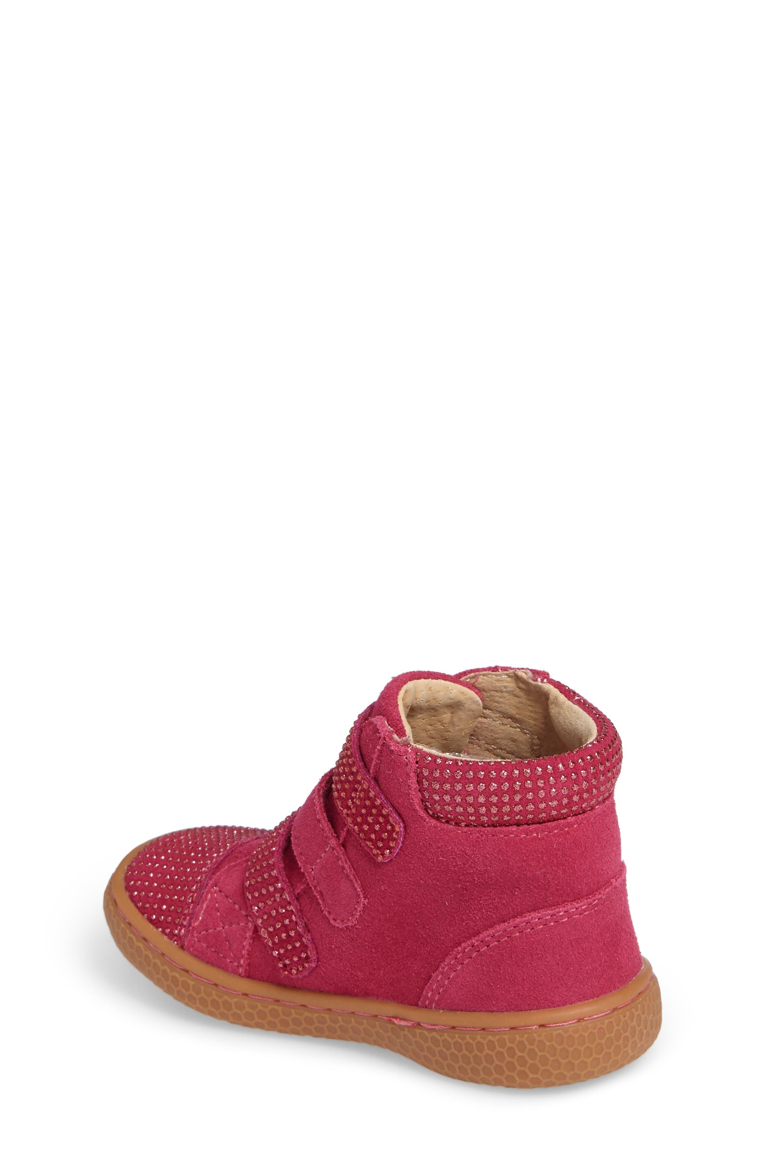 Alternate Image 2  - Livie & Luca 'Jamie' High Top Sneaker (Baby, Walker, Toddler & Little Kid)