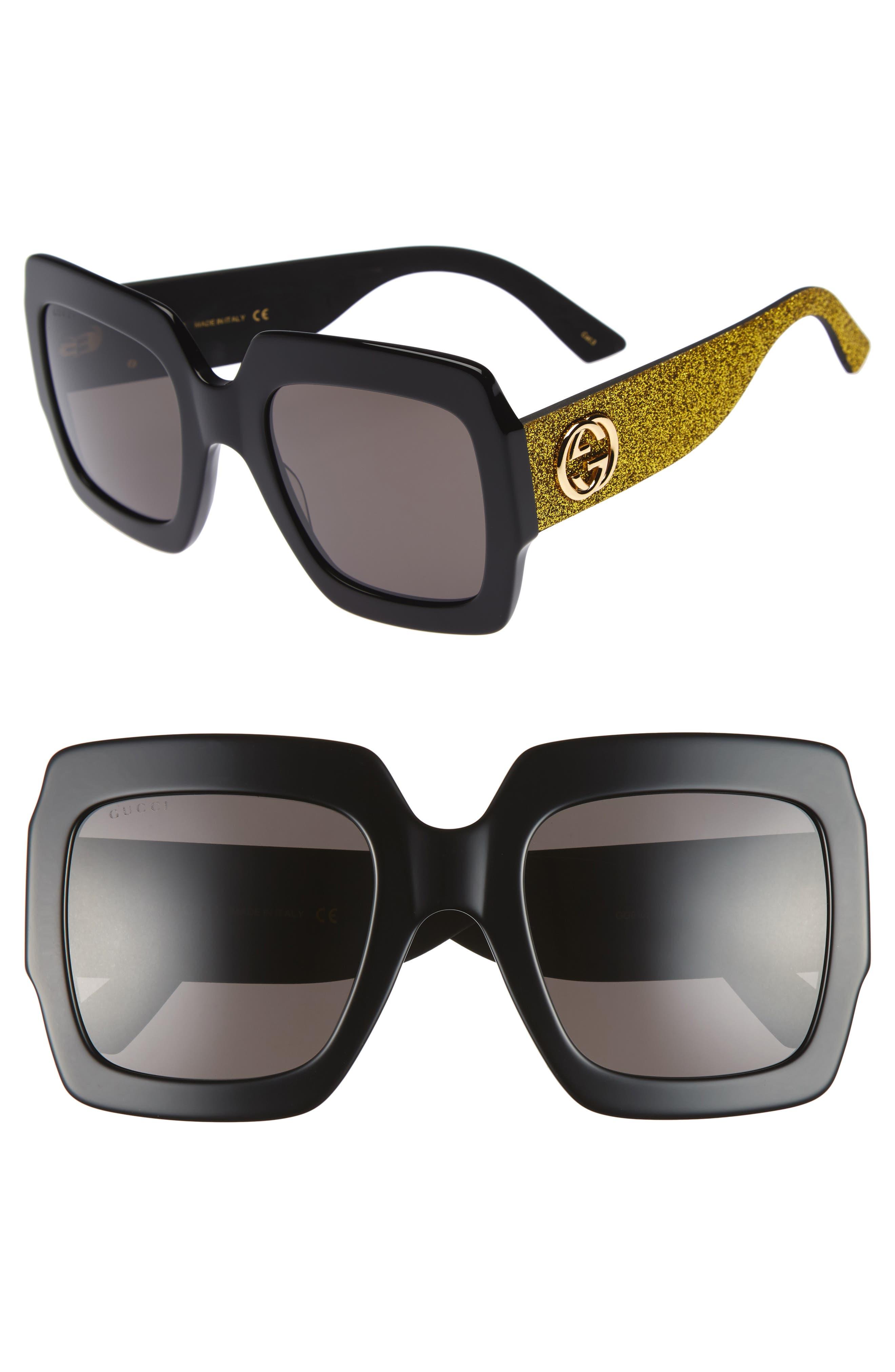217685f52 Women's Oblong Sunglasses: Gucci   Nordstrom