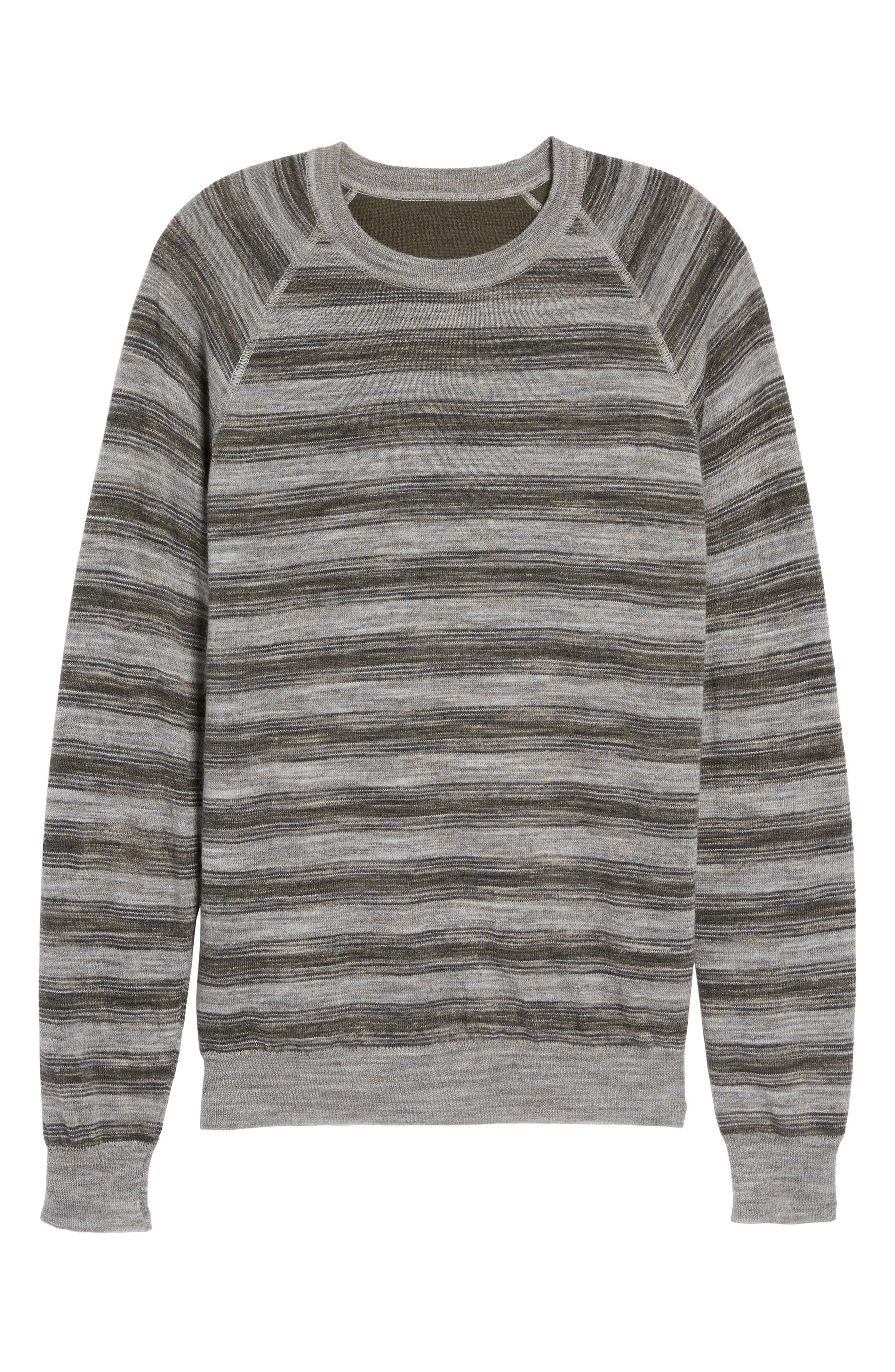 Alternate Image 5  - Billy Reid Reverse Stripe Sweater