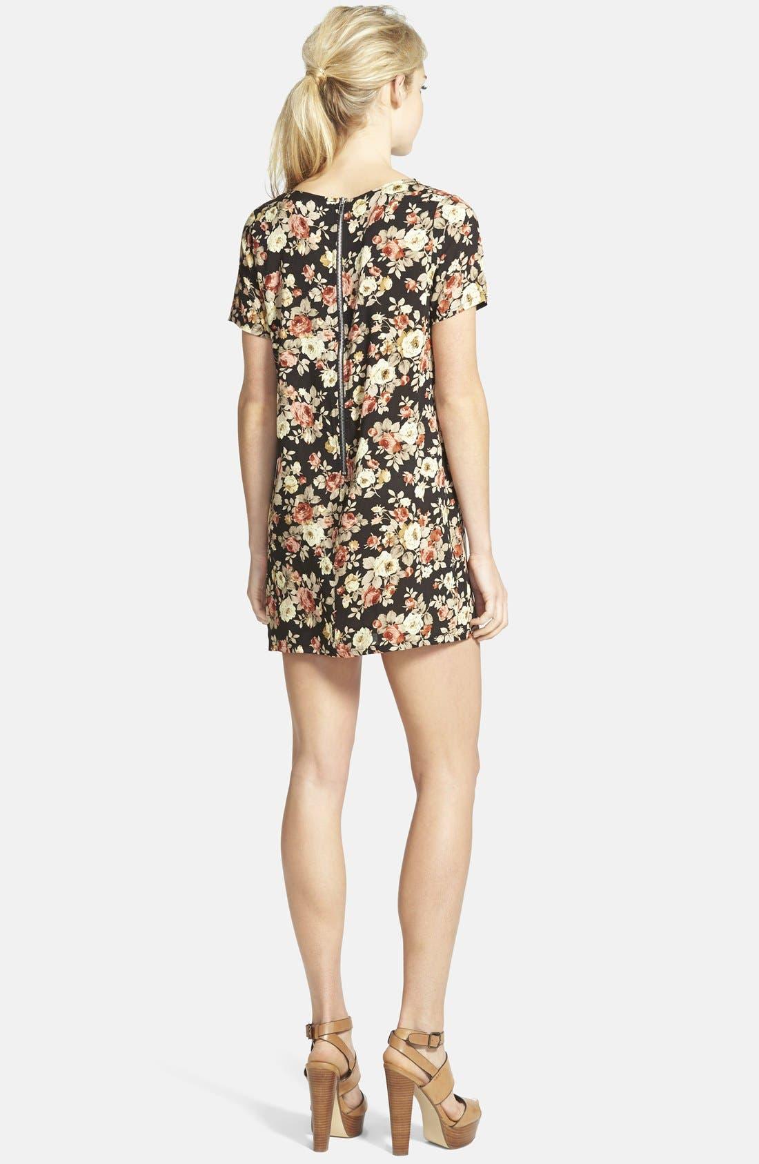 Alternate Image 2  - Glamorous Print Shift Tunic Dress