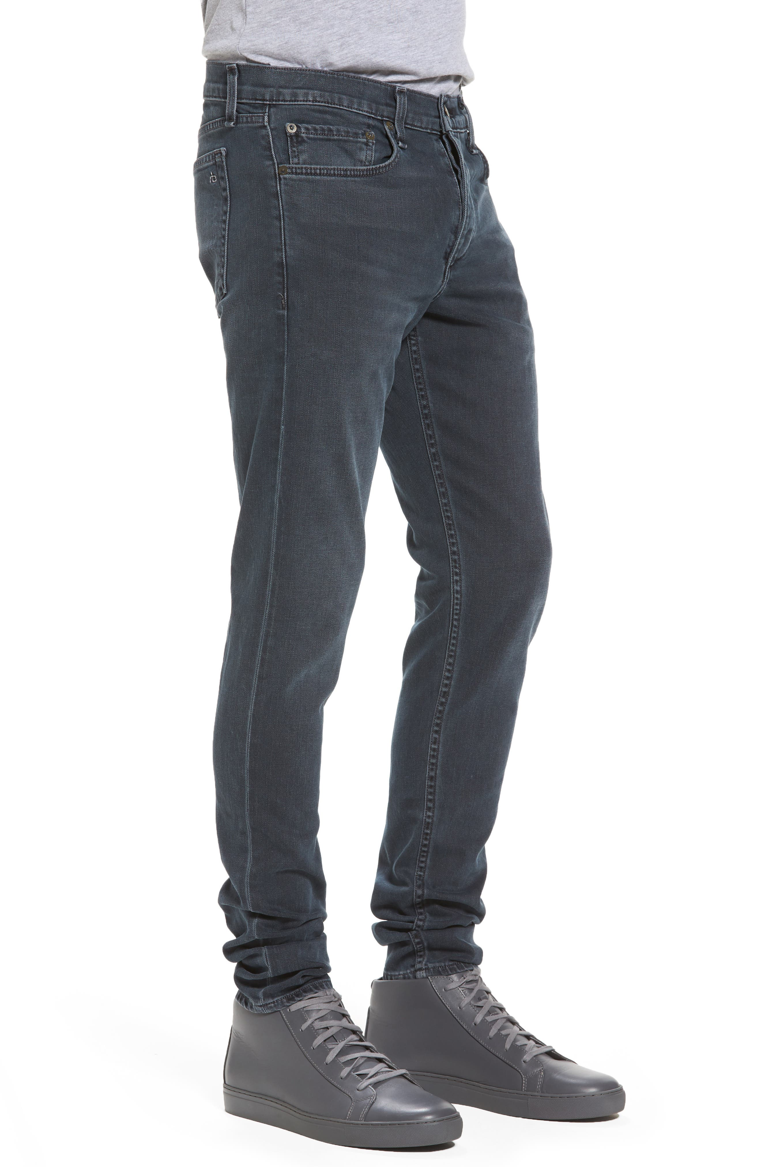 Fit 1 Skinny Fit Jeans,                             Alternate thumbnail 3, color,                             Minna