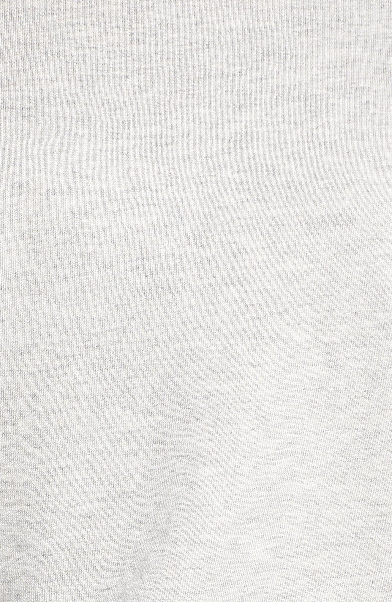 Star Raglan Pullover,                             Alternate thumbnail 6, color,                             Grey