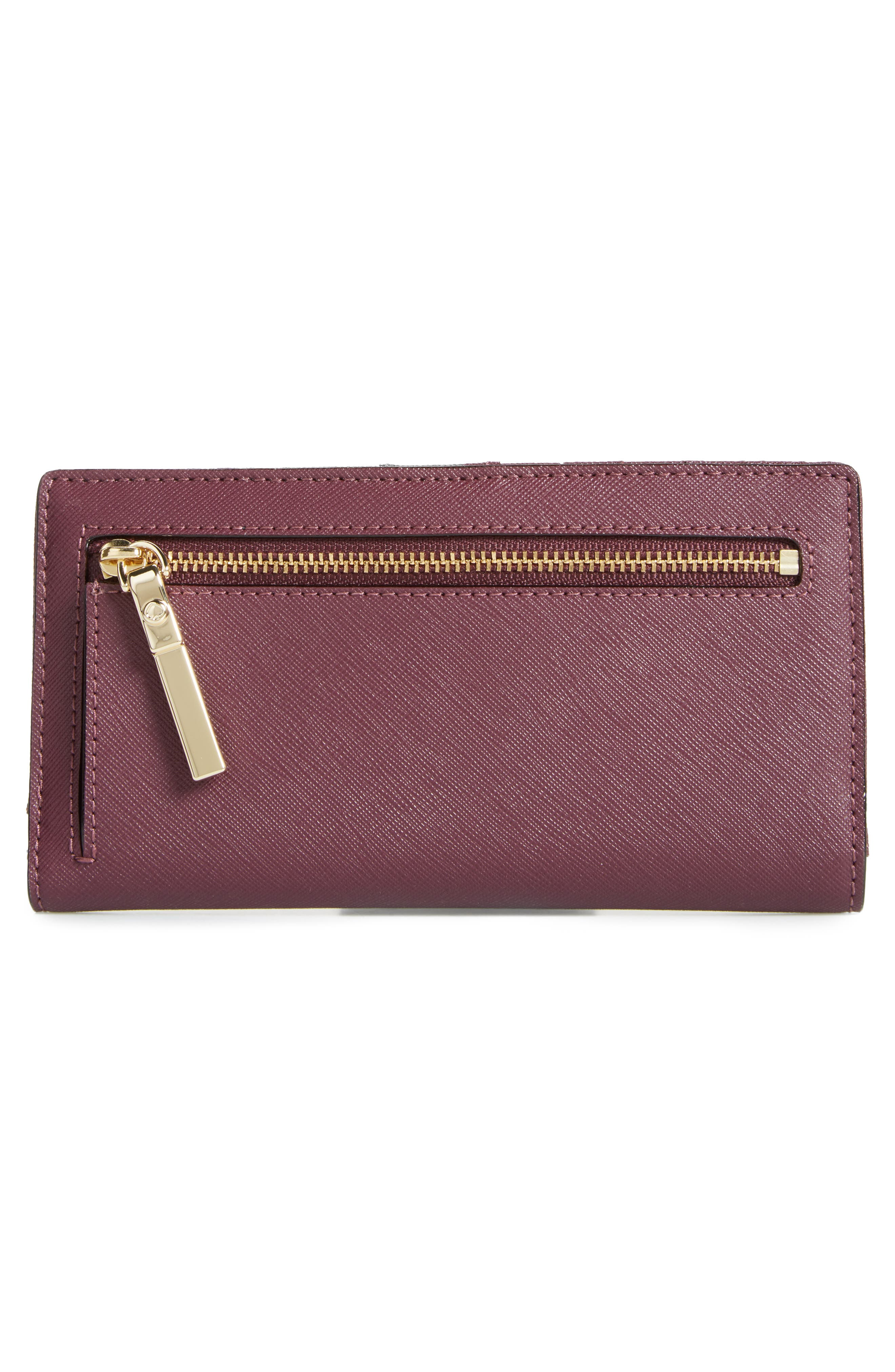 Alternate Image 4  - kate spade new york 'cameron street - stacy' textured leather wallet