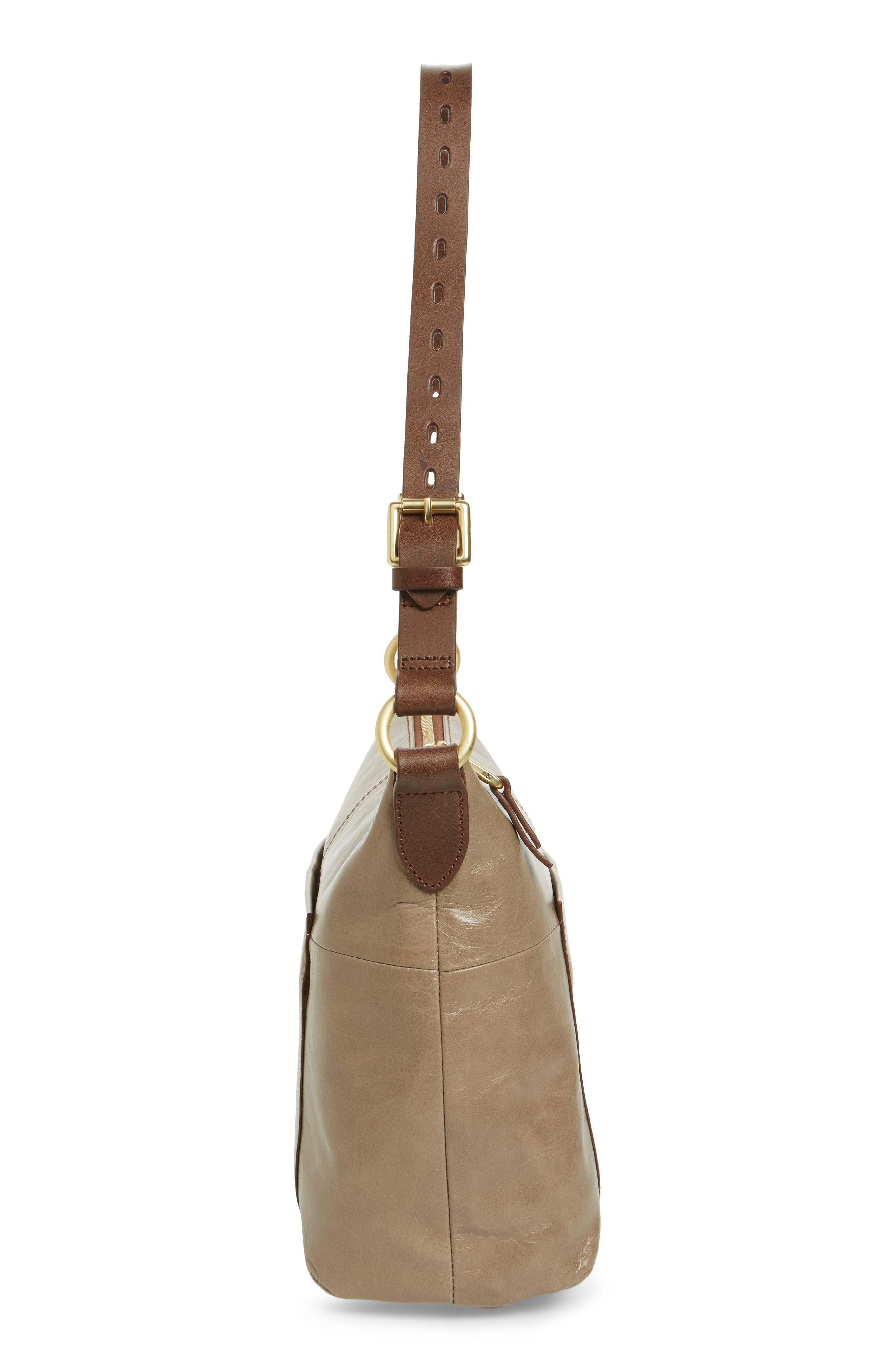 Alternate Image 4  - Hobo 'Charlie' Leather Shoulder Bag