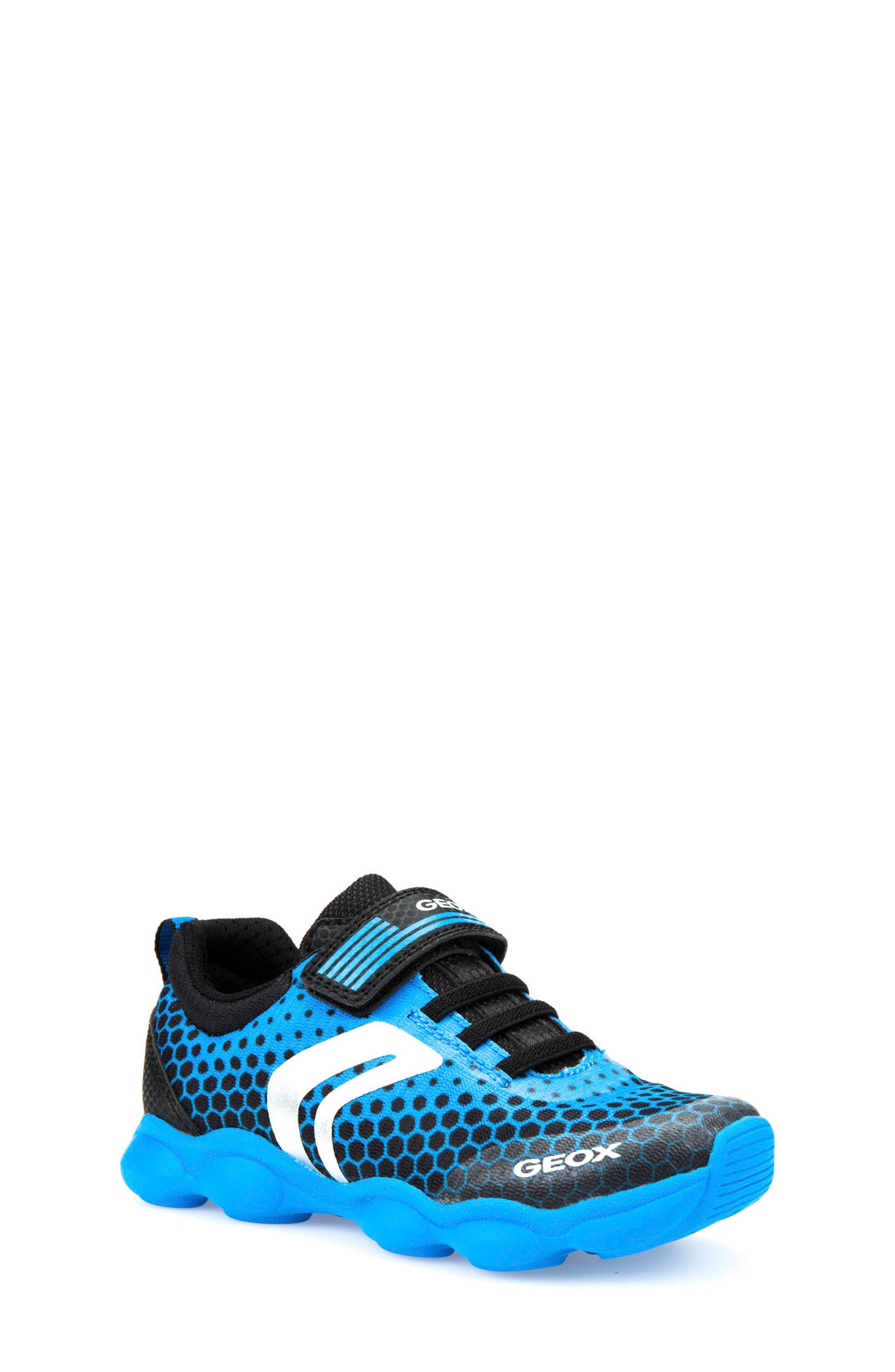 Munfrey Sneaker,                         Main,                         color, Light Blue/ Black