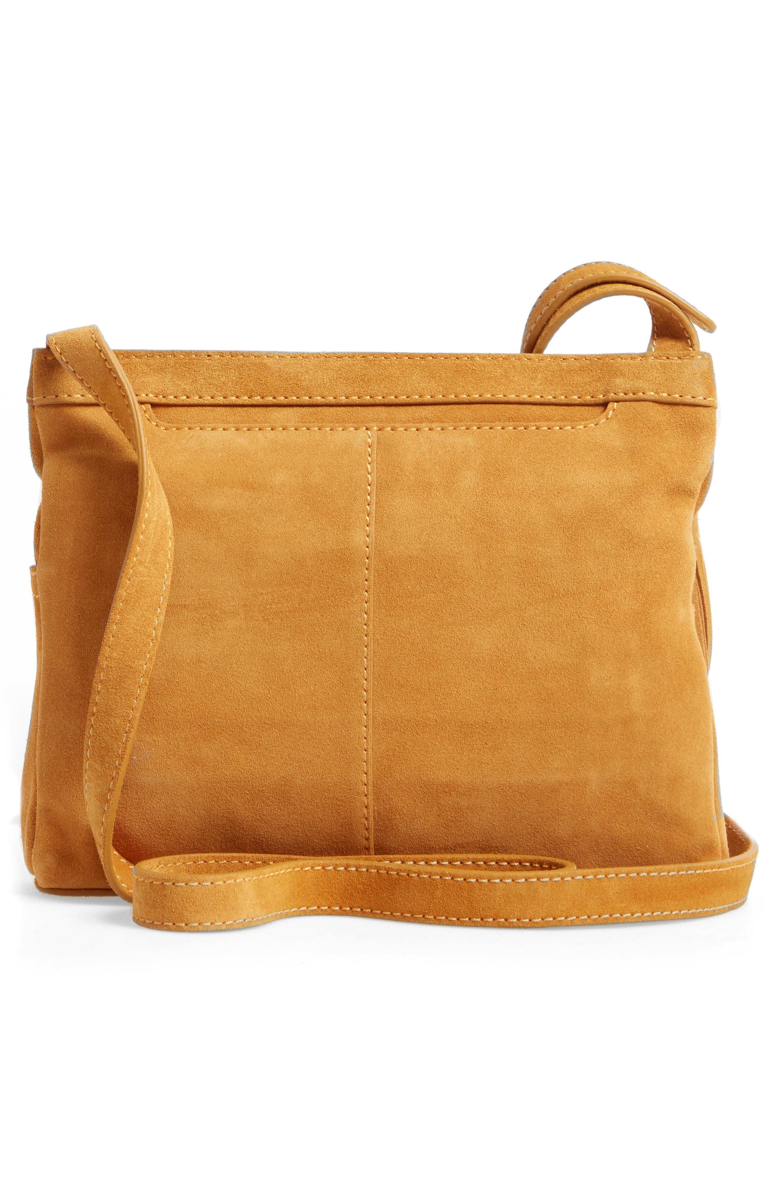 Alternate Image 3  - Hobo Cassie Calfskin Suede Crossbody Bag