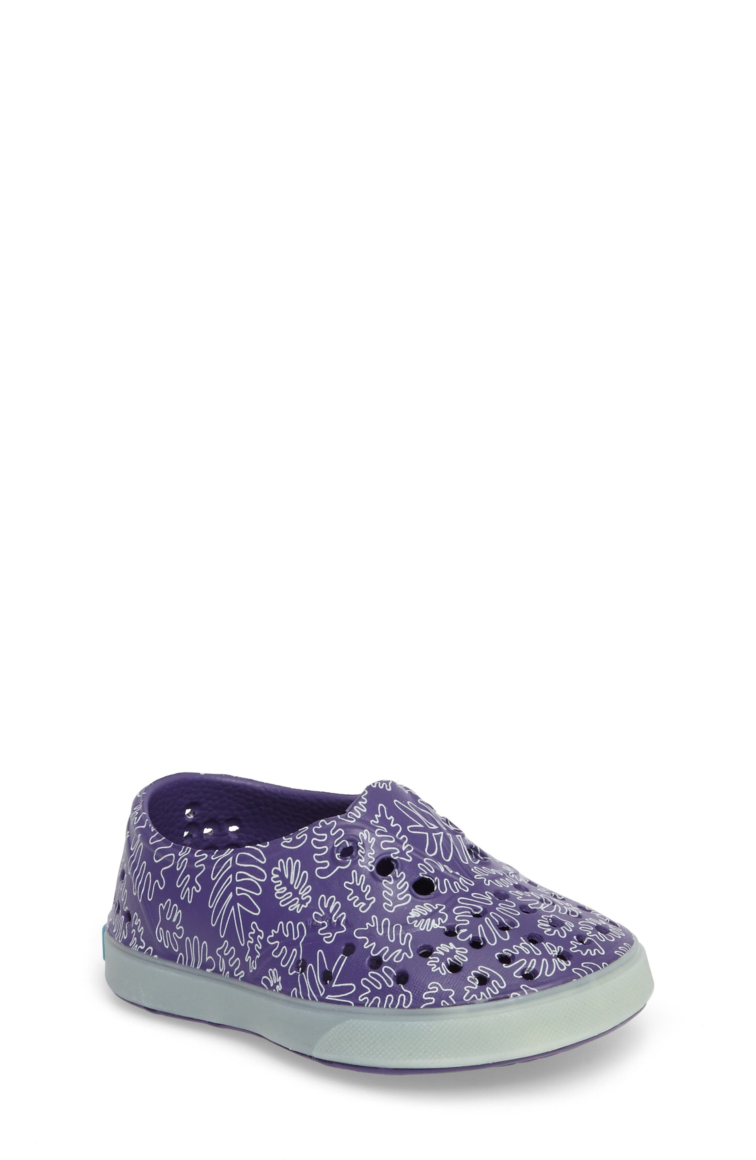 Native Shoes 'Miller - Glow' Perforated Slip-On (Baby, Walker, Toddler & Little Kid)
