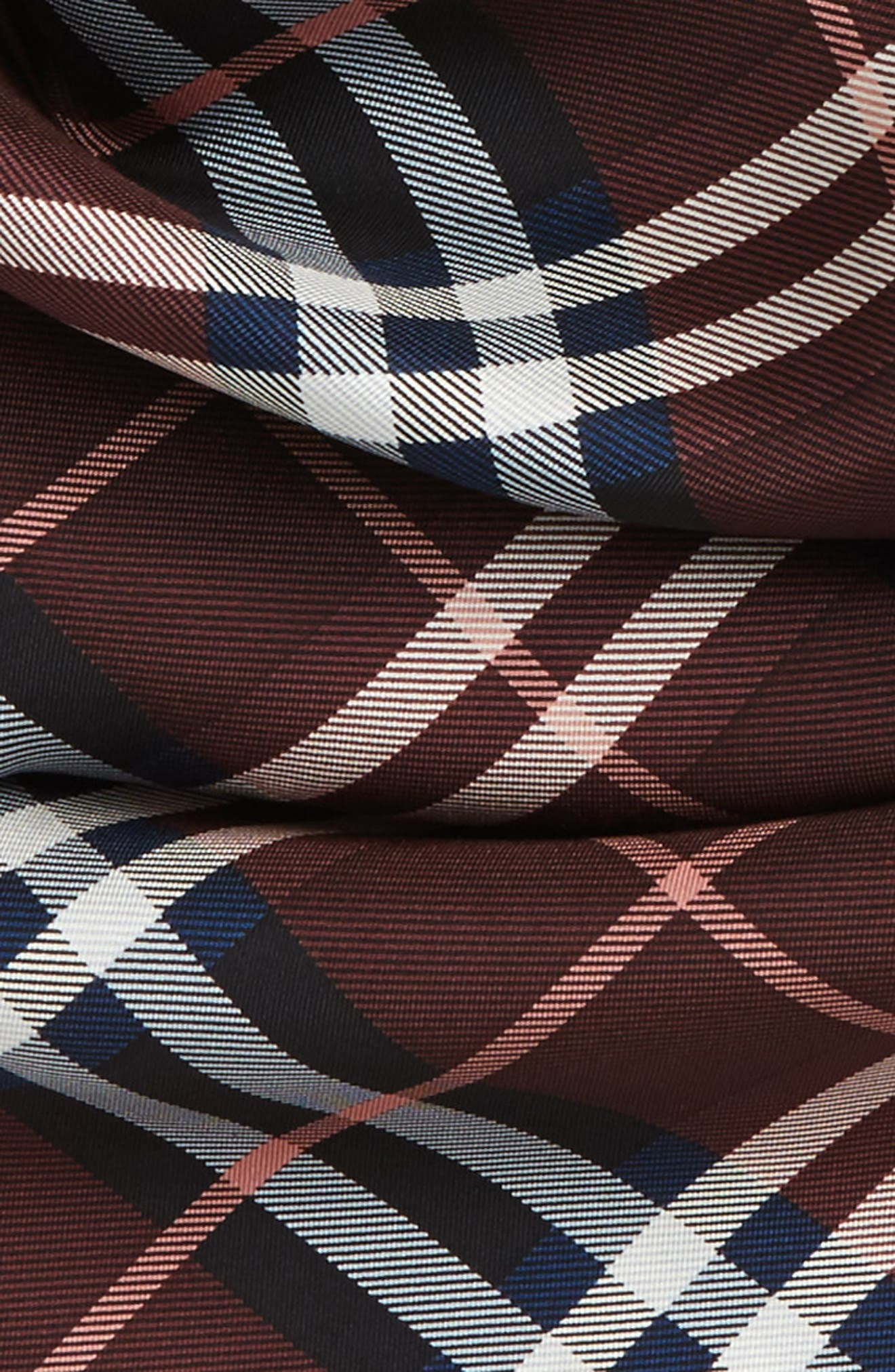 Alternate Image 3  - Burberry Castleford Check Silk Scarf
