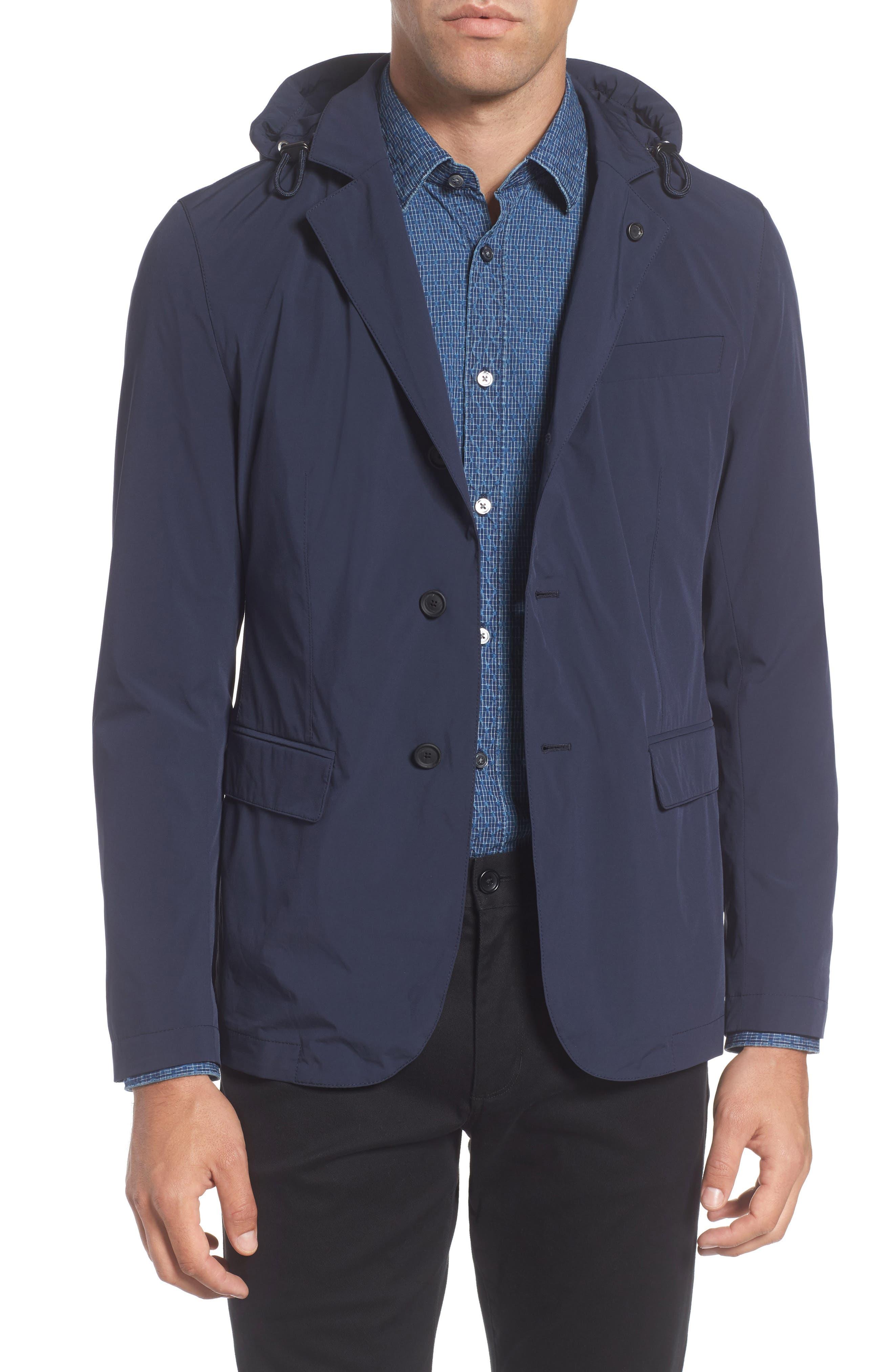 Nellsen Sport Coat,                         Main,                         color, Navy