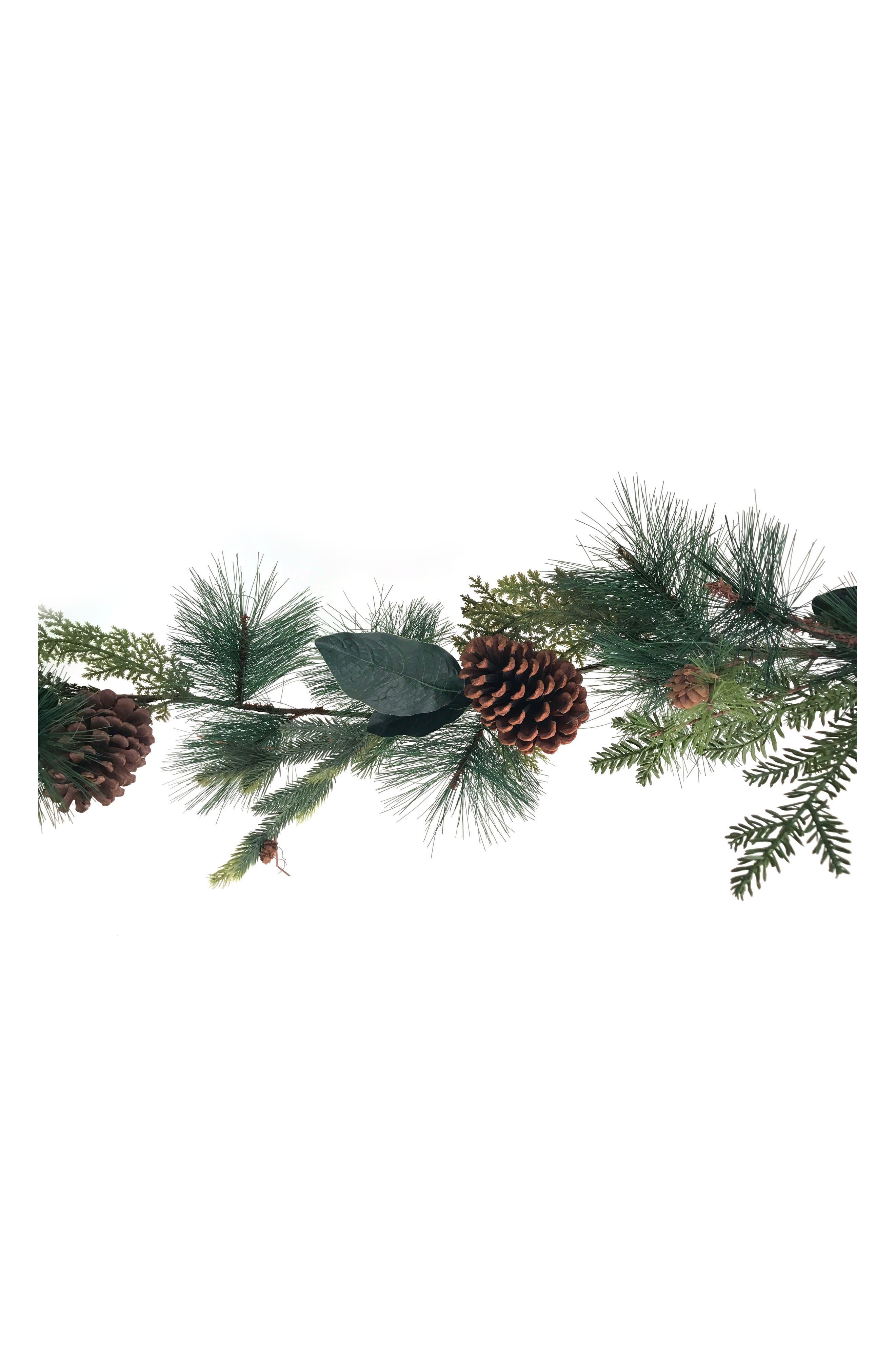 Pine Garland,                         Main,                         color, Green