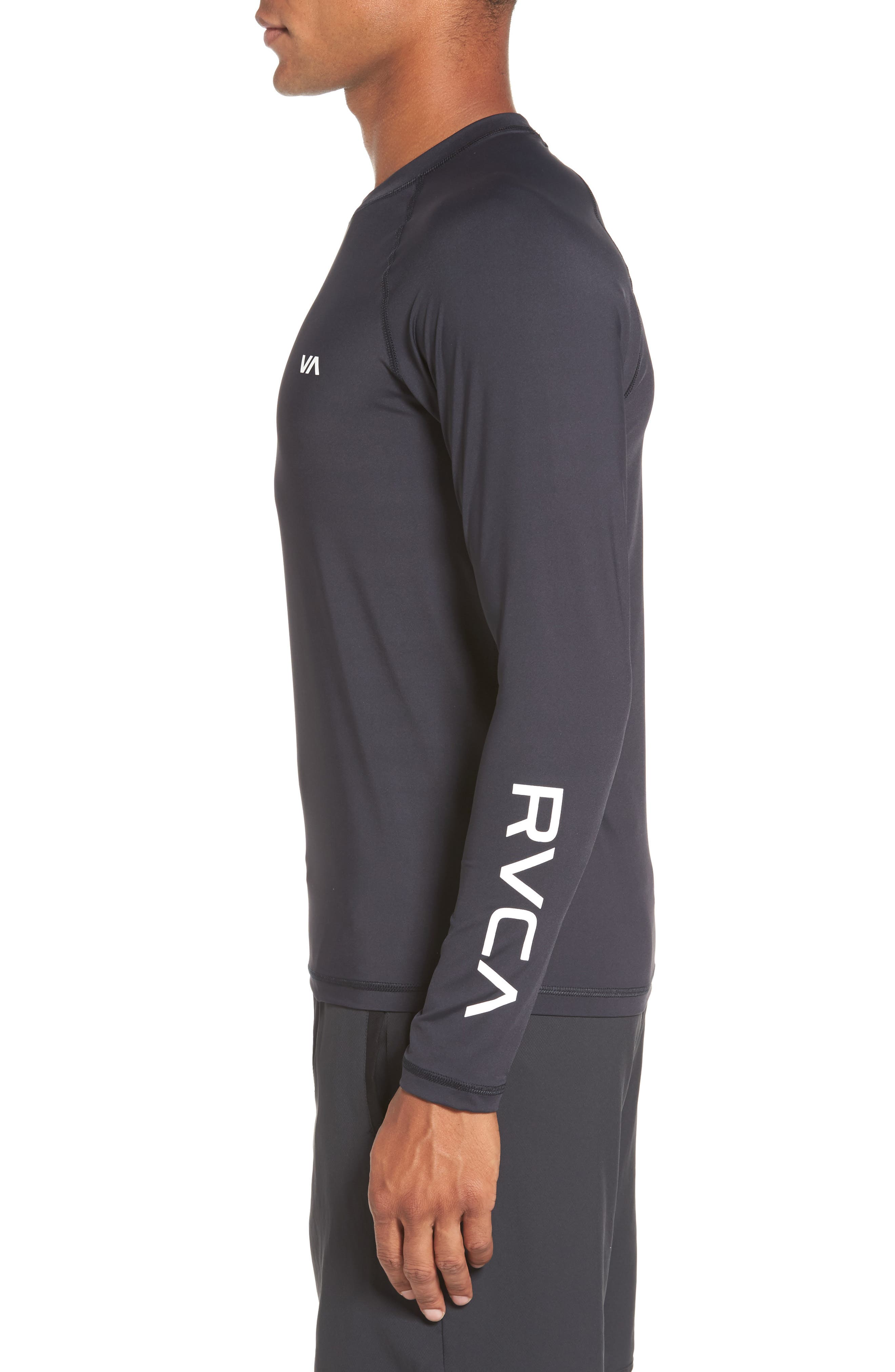 Alternate Image 3  - RVCA VA Sport Compression Shirt