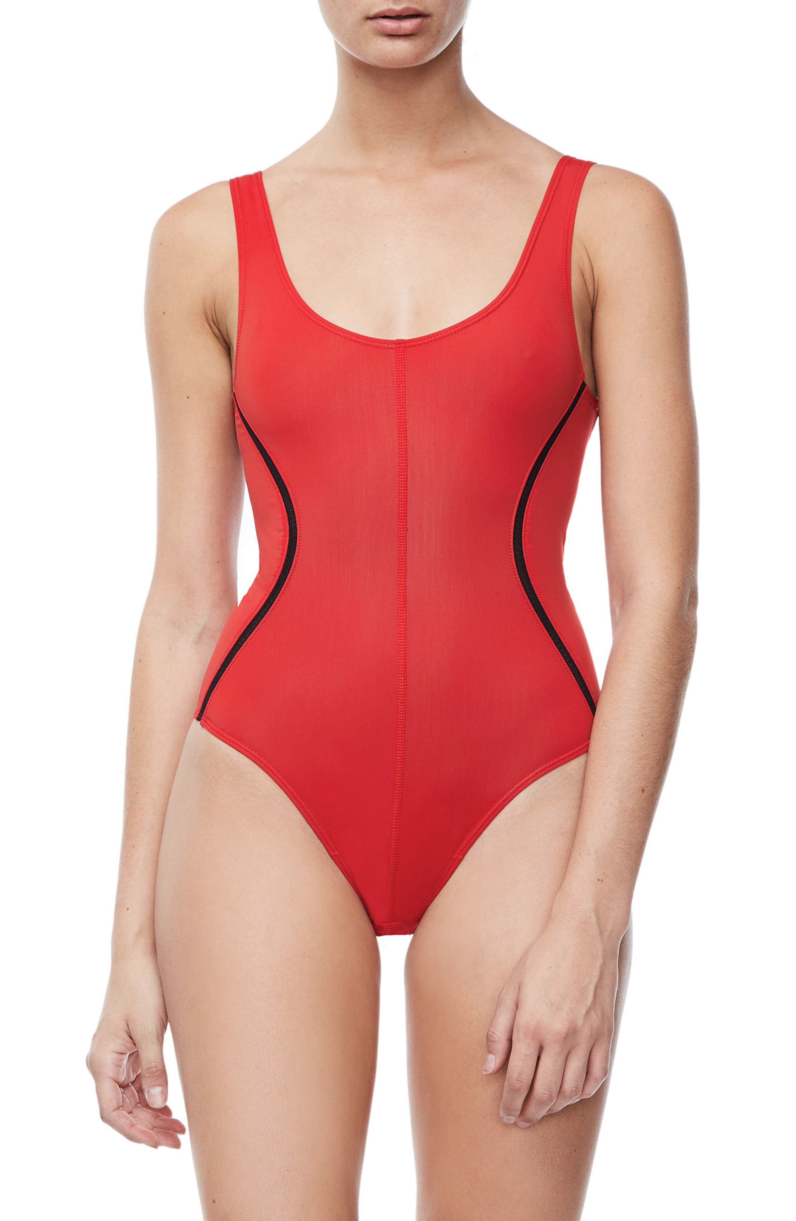 Alternate Image 5  - Good Body Compression Tank Bodysuit (Regular & Plus Size)