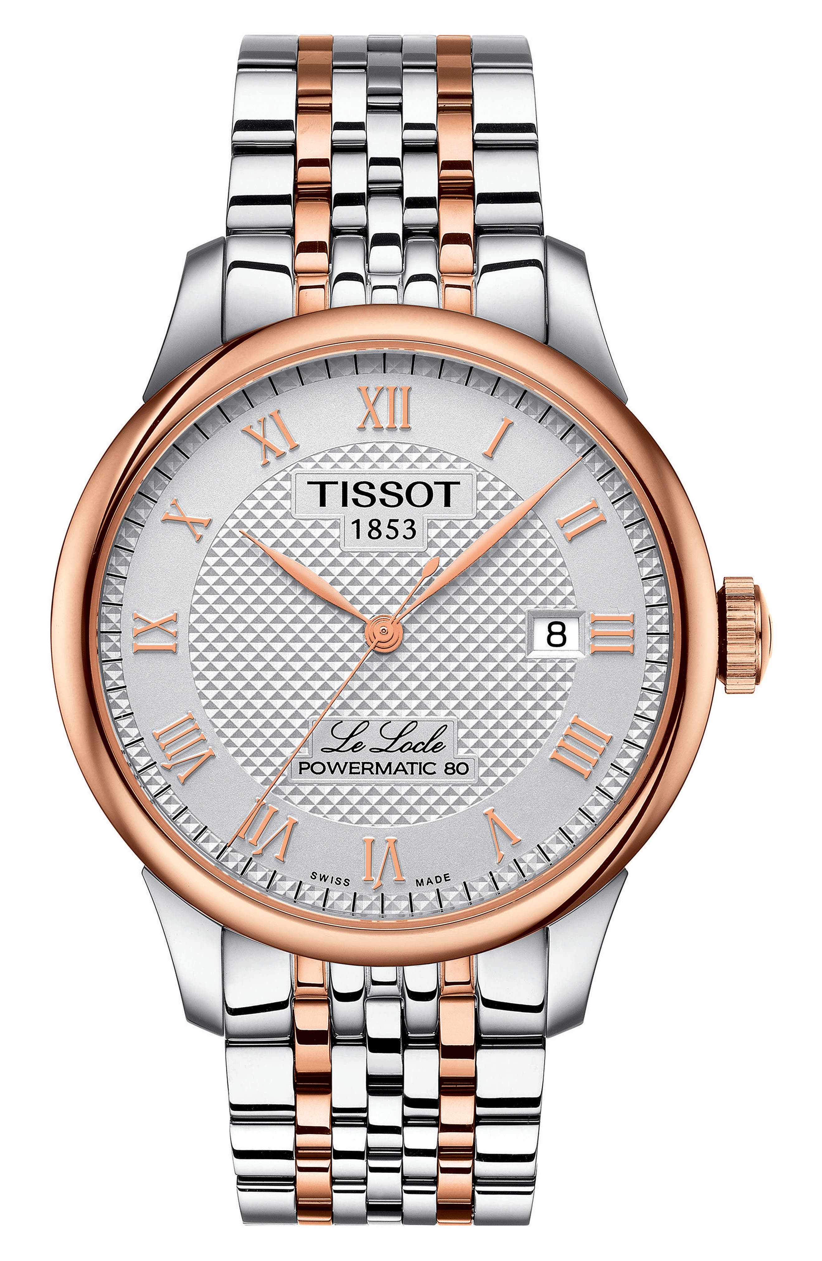 Alternate Image 1 Selected - Tissot Le Locle Bracelet Watch, 39mm