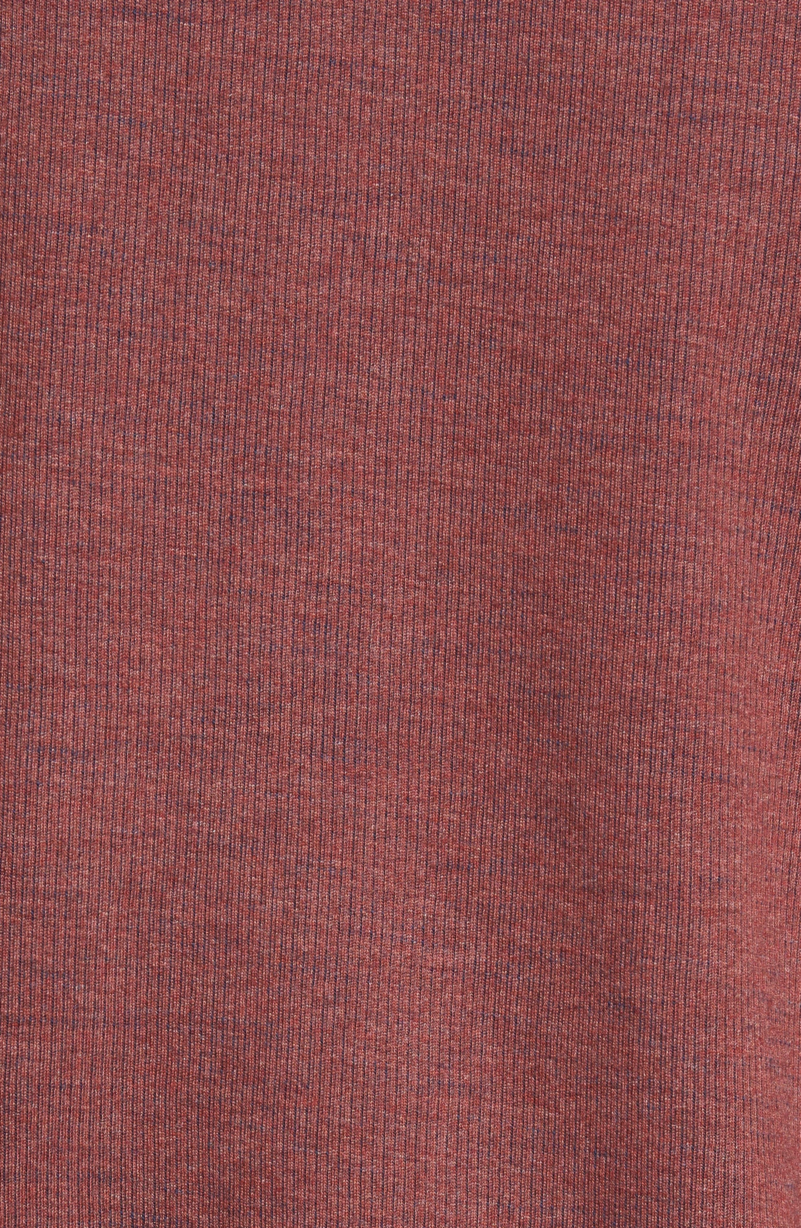 Flipside Pro Reversible Sweatshirt,                             Alternate thumbnail 5, color,                             Pompeya Heather