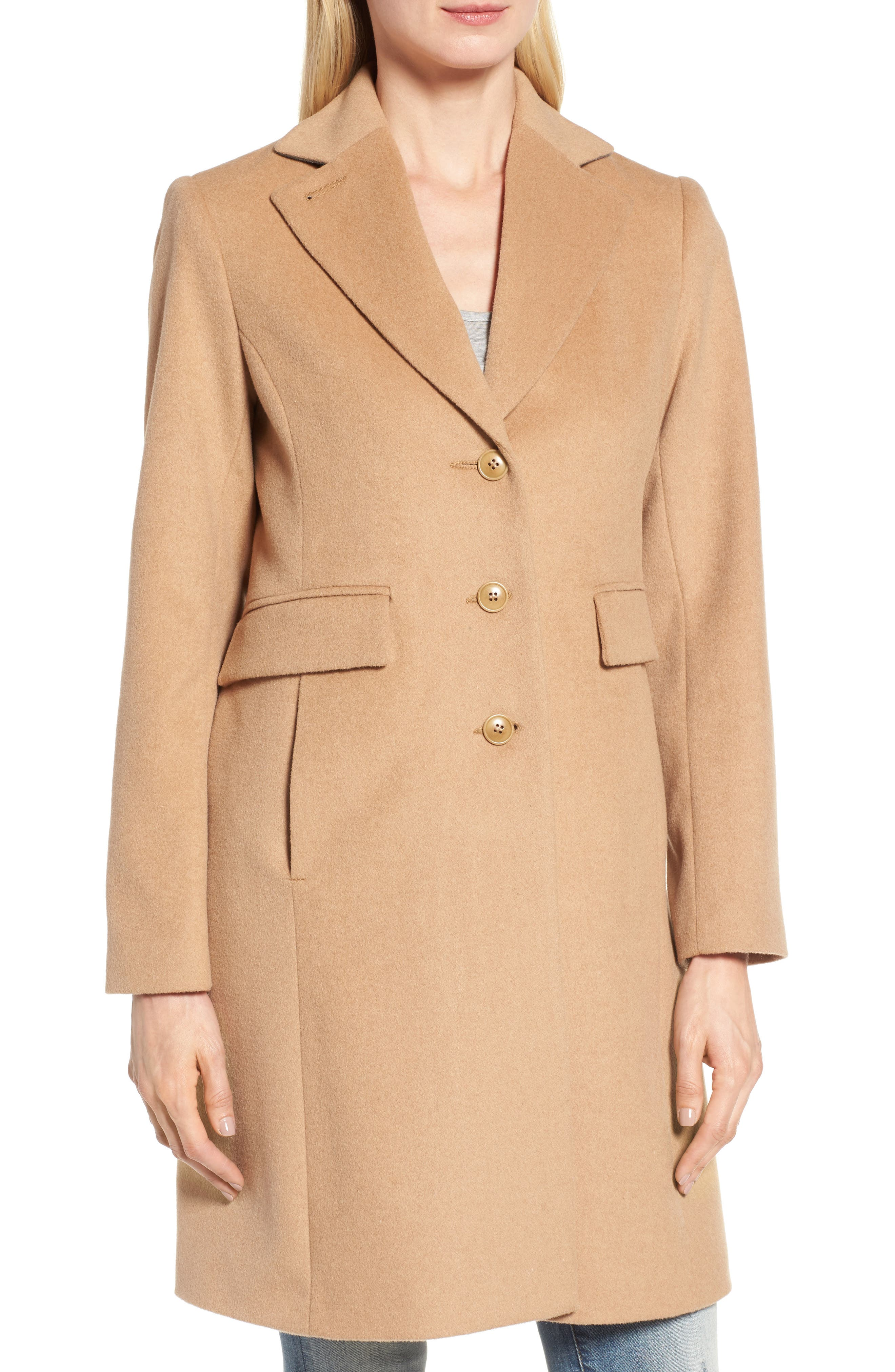 Alternate Image 5  - Kristen Blake Walking Coat (Regular & Petite)