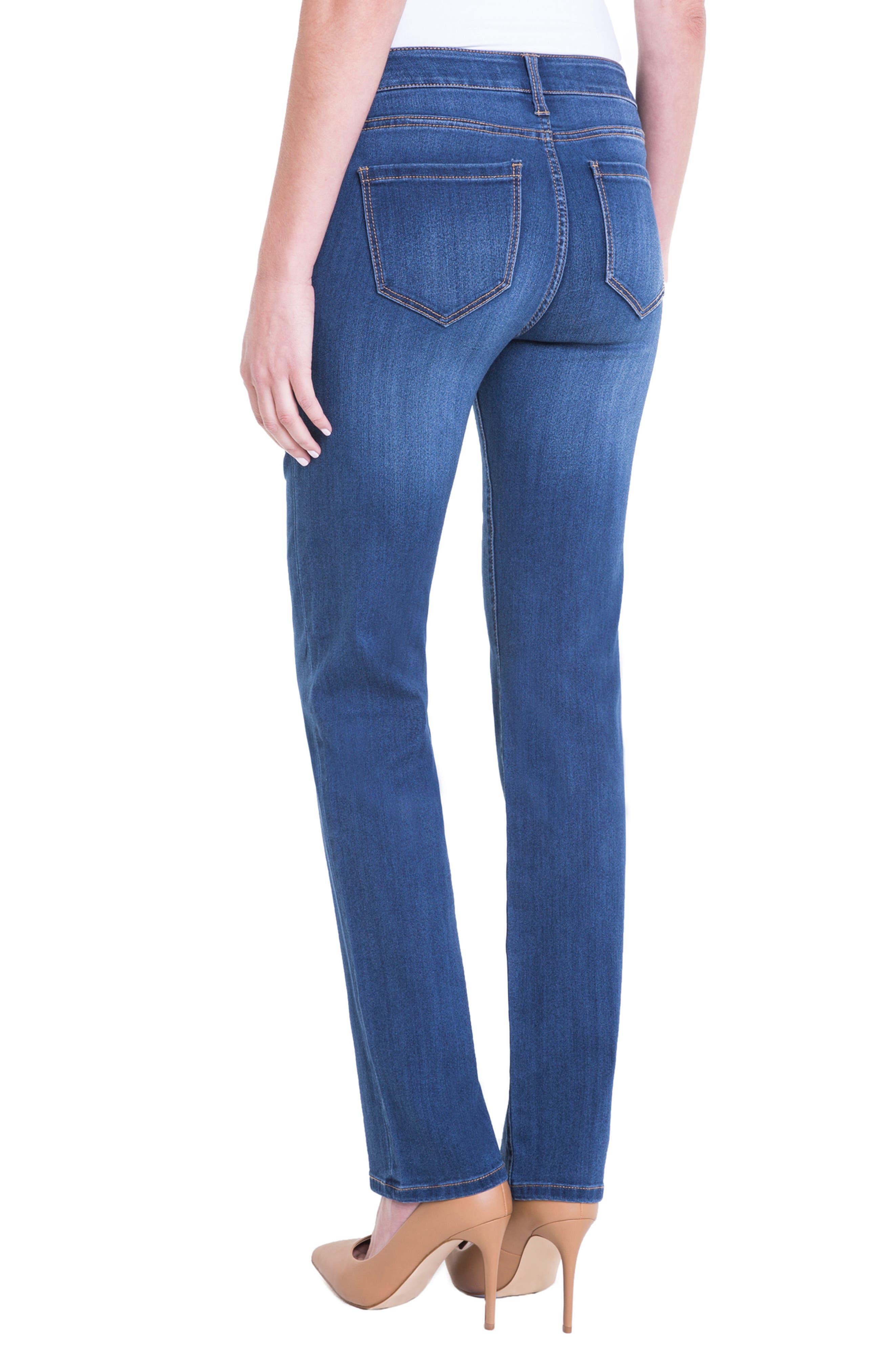 Sadie Straight Leg Jeans,                             Alternate thumbnail 2, color,                             Helms