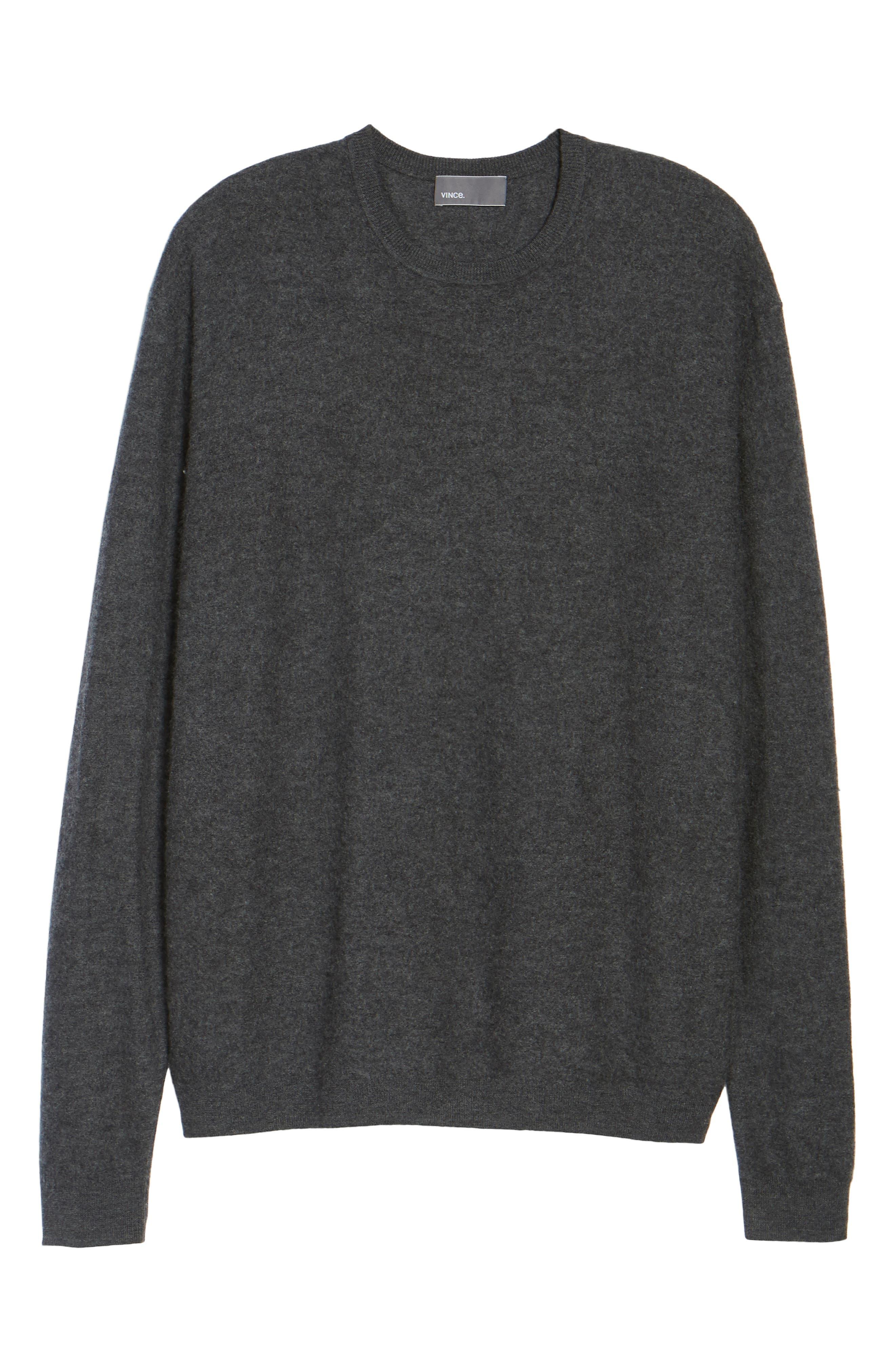 Alternate Image 7  - Vince Cashmere Crewneck Sweater