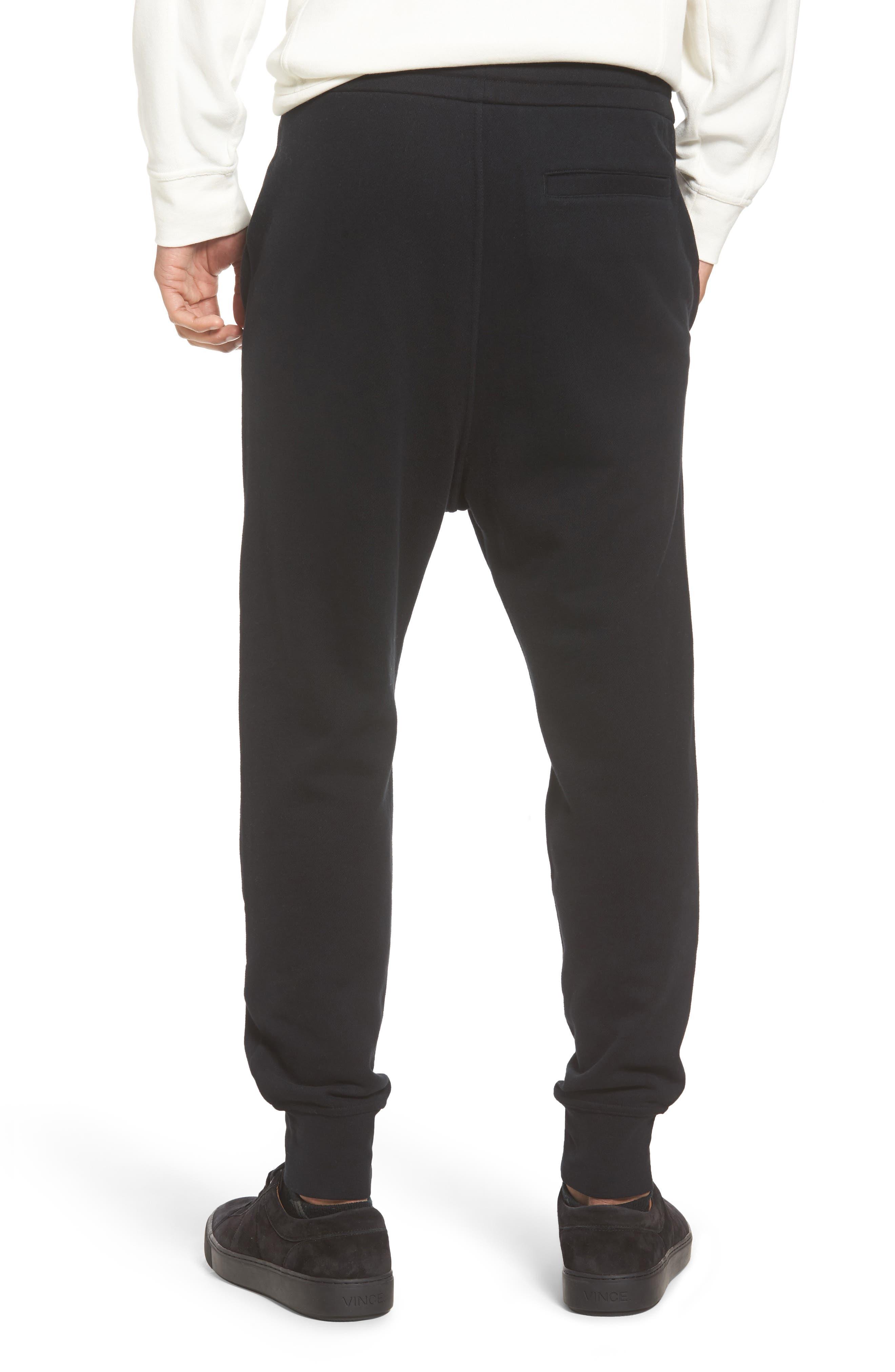 Regular Fit Sweatpants,                             Alternate thumbnail 2, color,                             Black