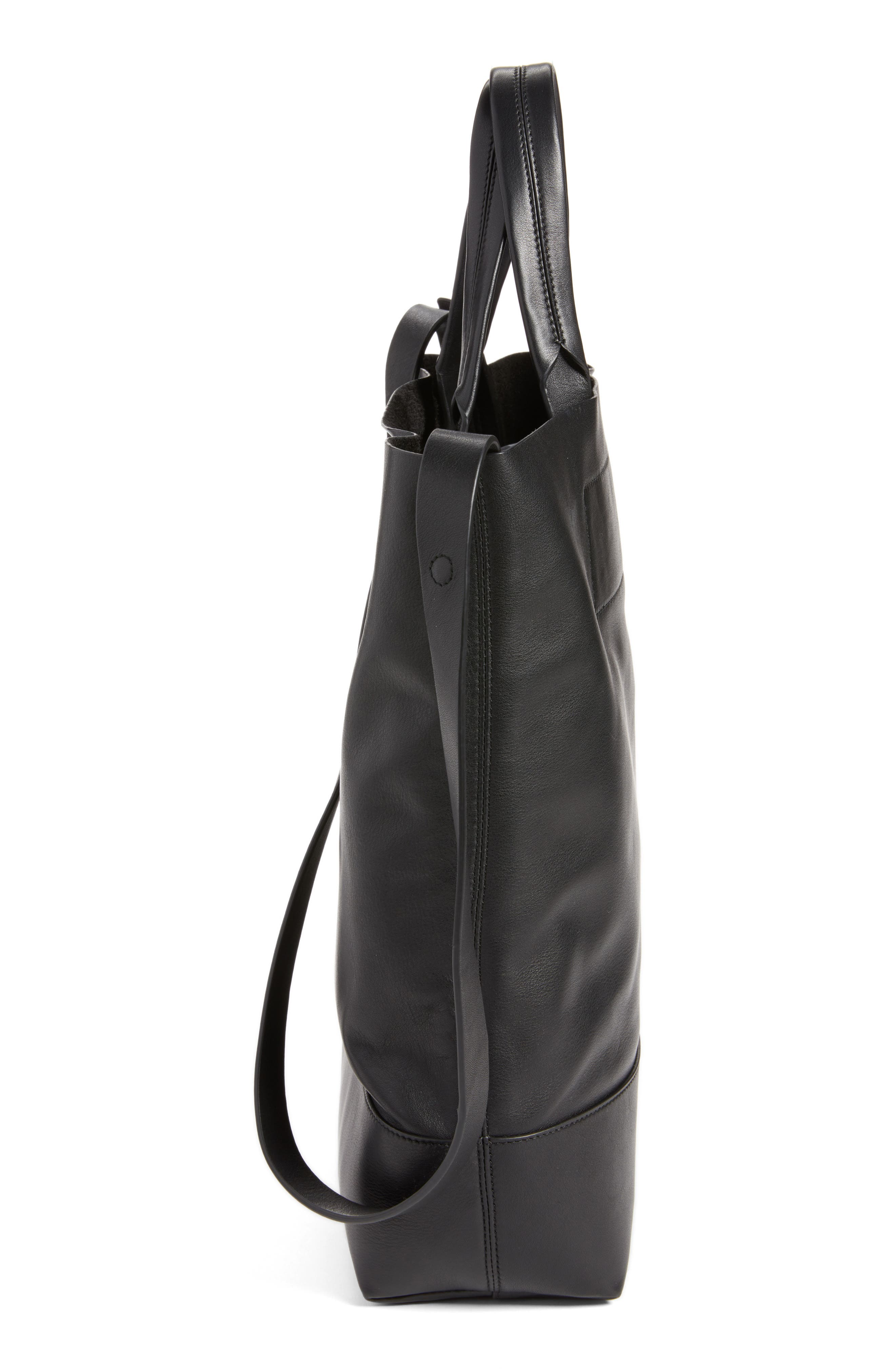 Alternate Image 4  - rag & bone Walker Convertible Leather Tote