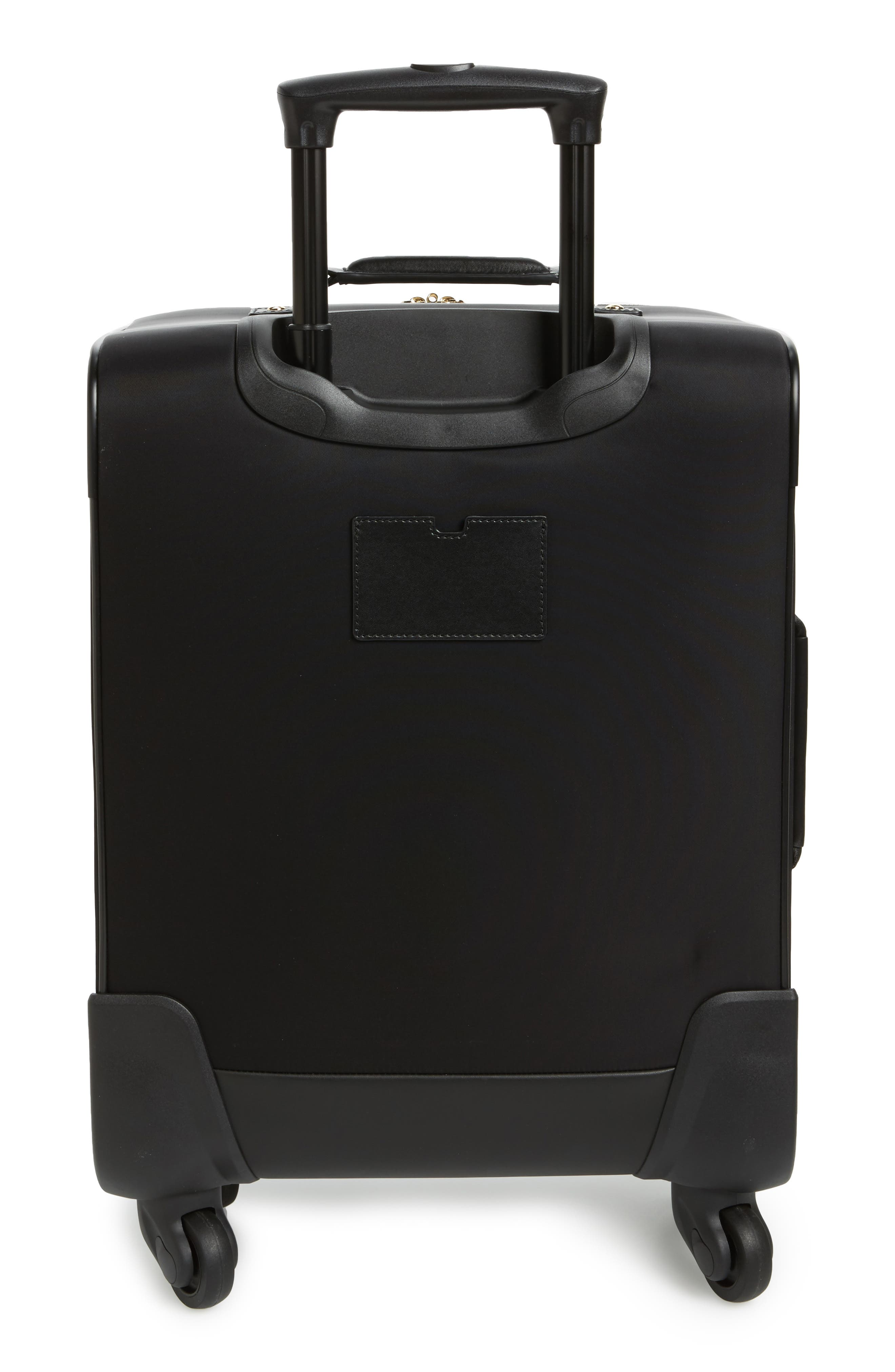 watson lane nylon international 21-inch rolling carry-on,                             Alternate thumbnail 4, color,                             Black