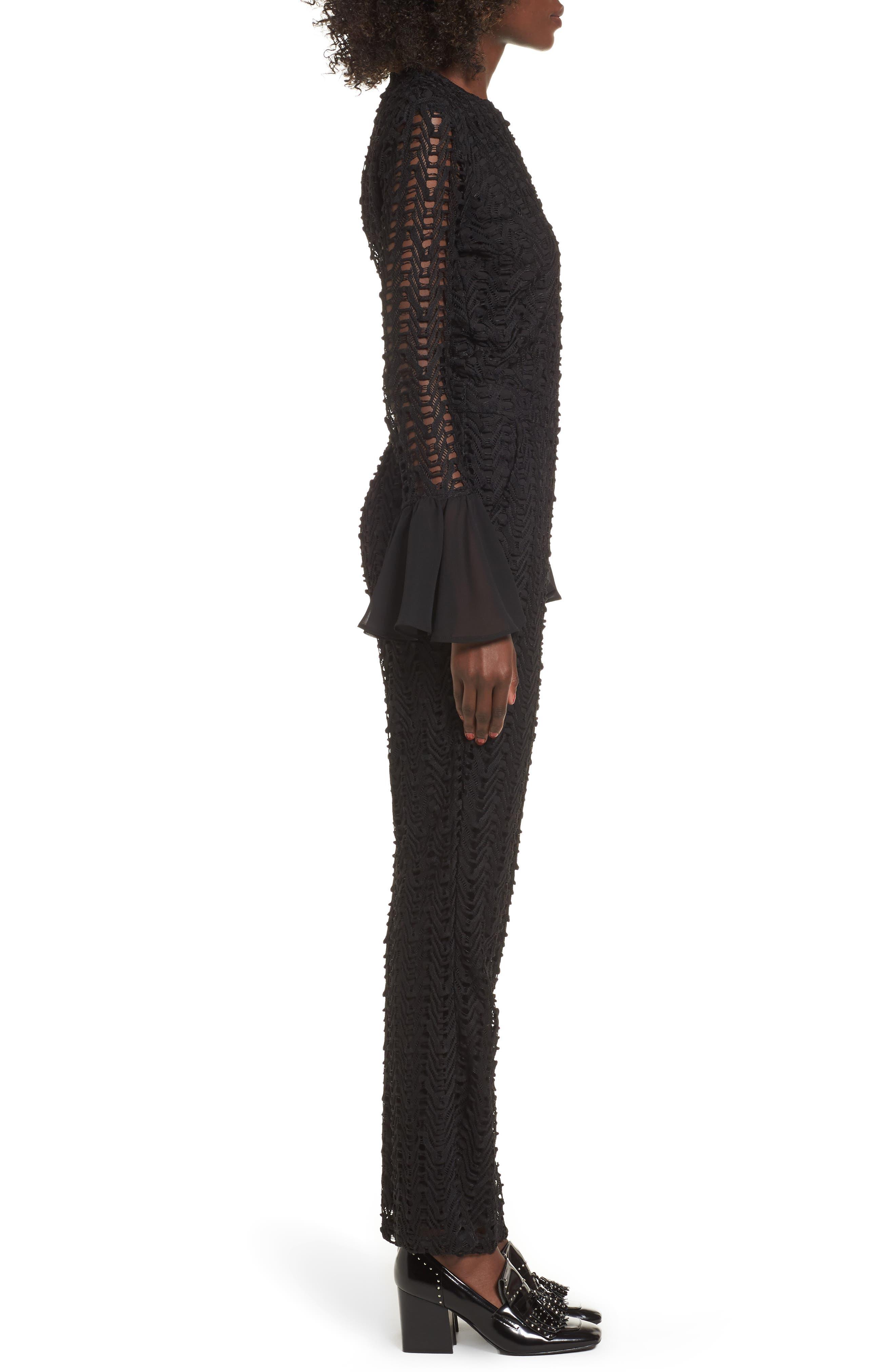 Wimma Jumpsuit,                             Alternate thumbnail 3, color,                             Black