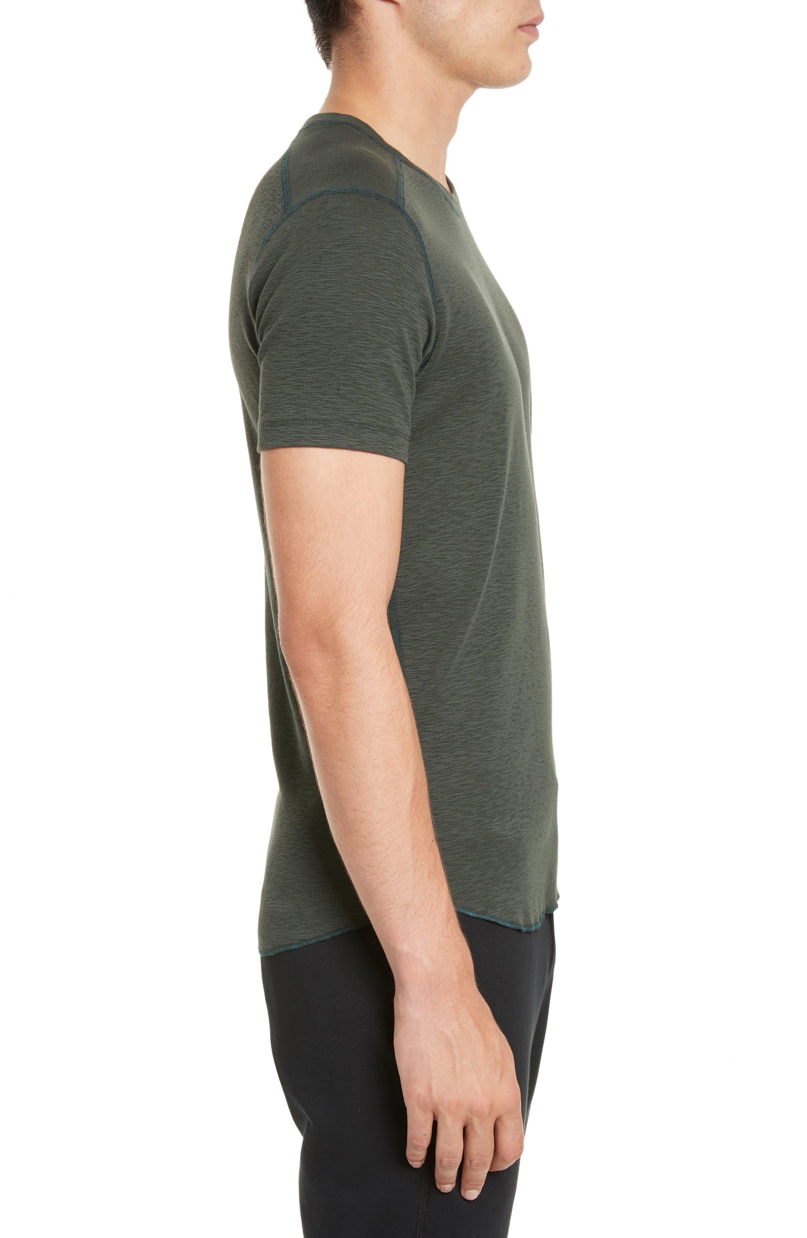 Alternate Image 3  - wings + horns Ribbed Slub Cotton T-Shirt