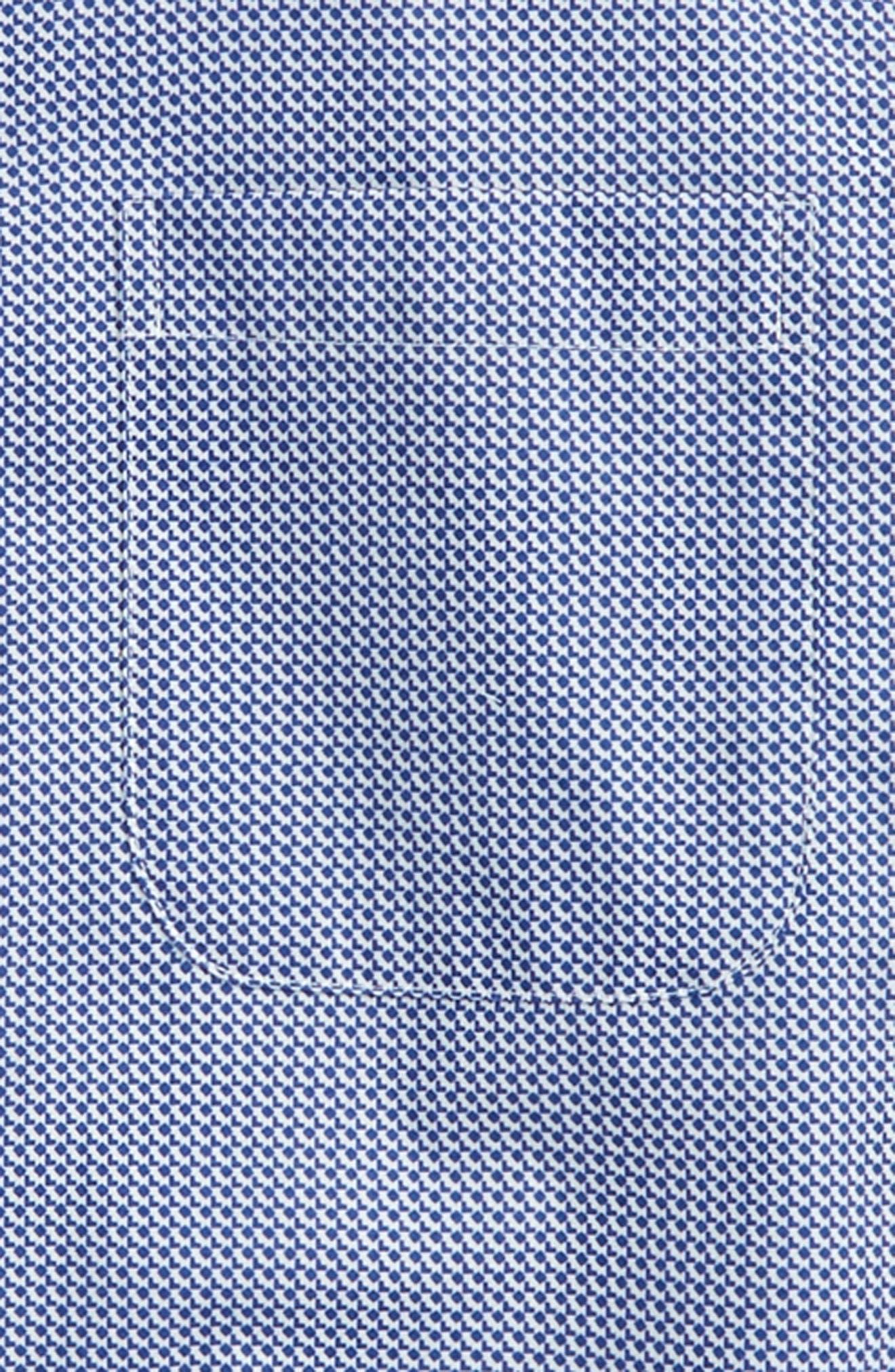 Neat Dress Shirt,                             Alternate thumbnail 2, color,                             Blue Sodalite Neat