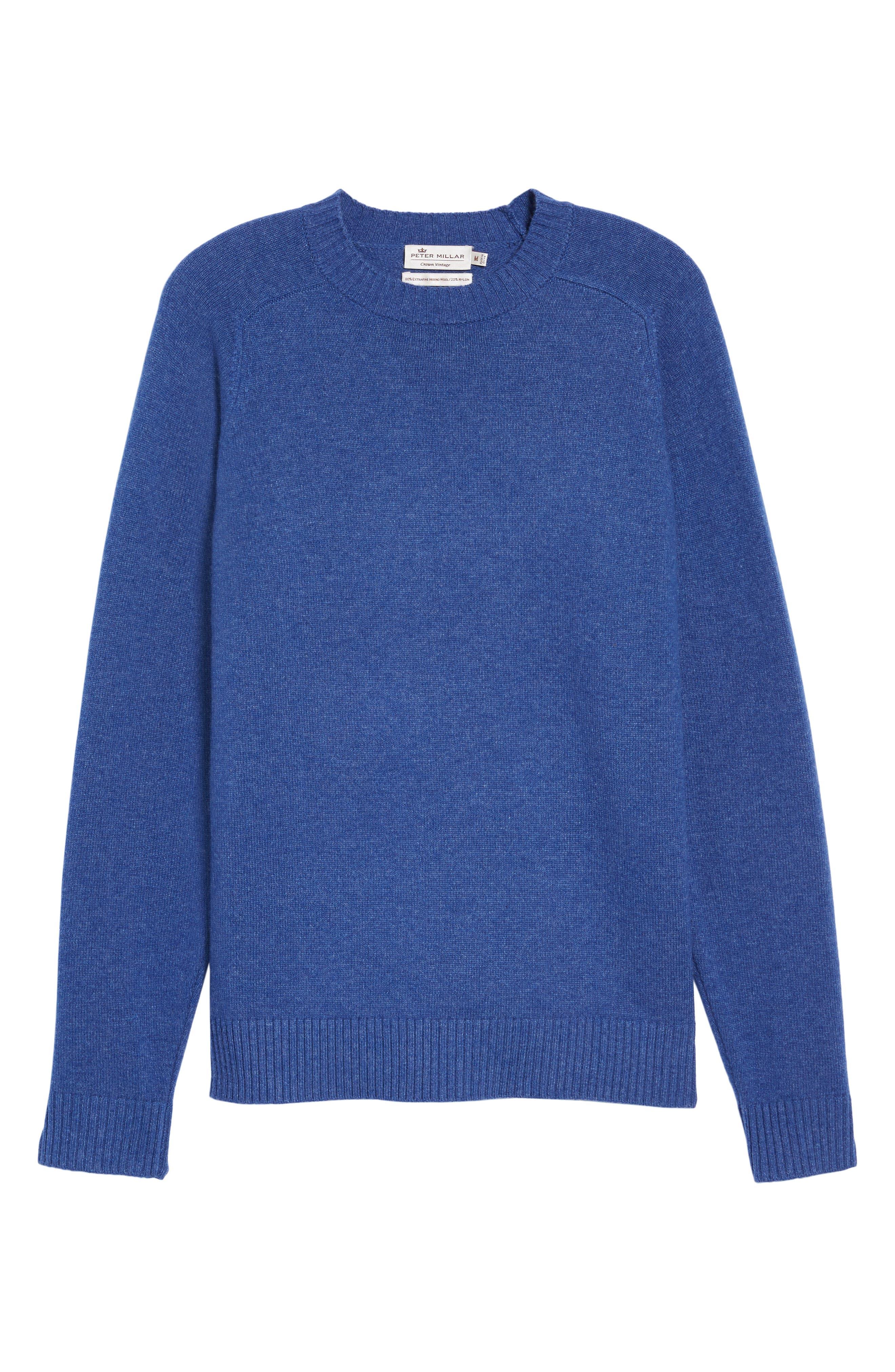 Alternate Image 5  - Peter Millar Crown Vintage Crewneck Sweatshirt