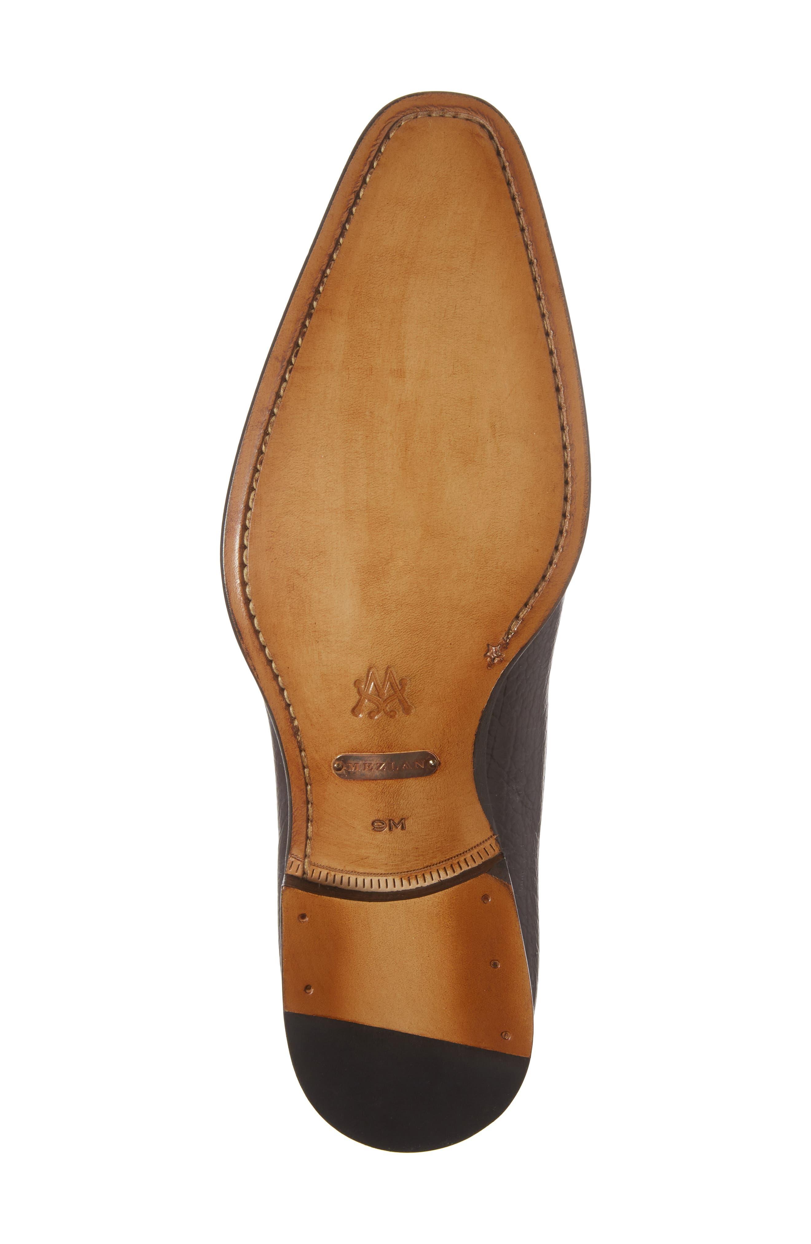 Pulpi Cap Toe Derby,                             Alternate thumbnail 6, color,                             Brown Leather