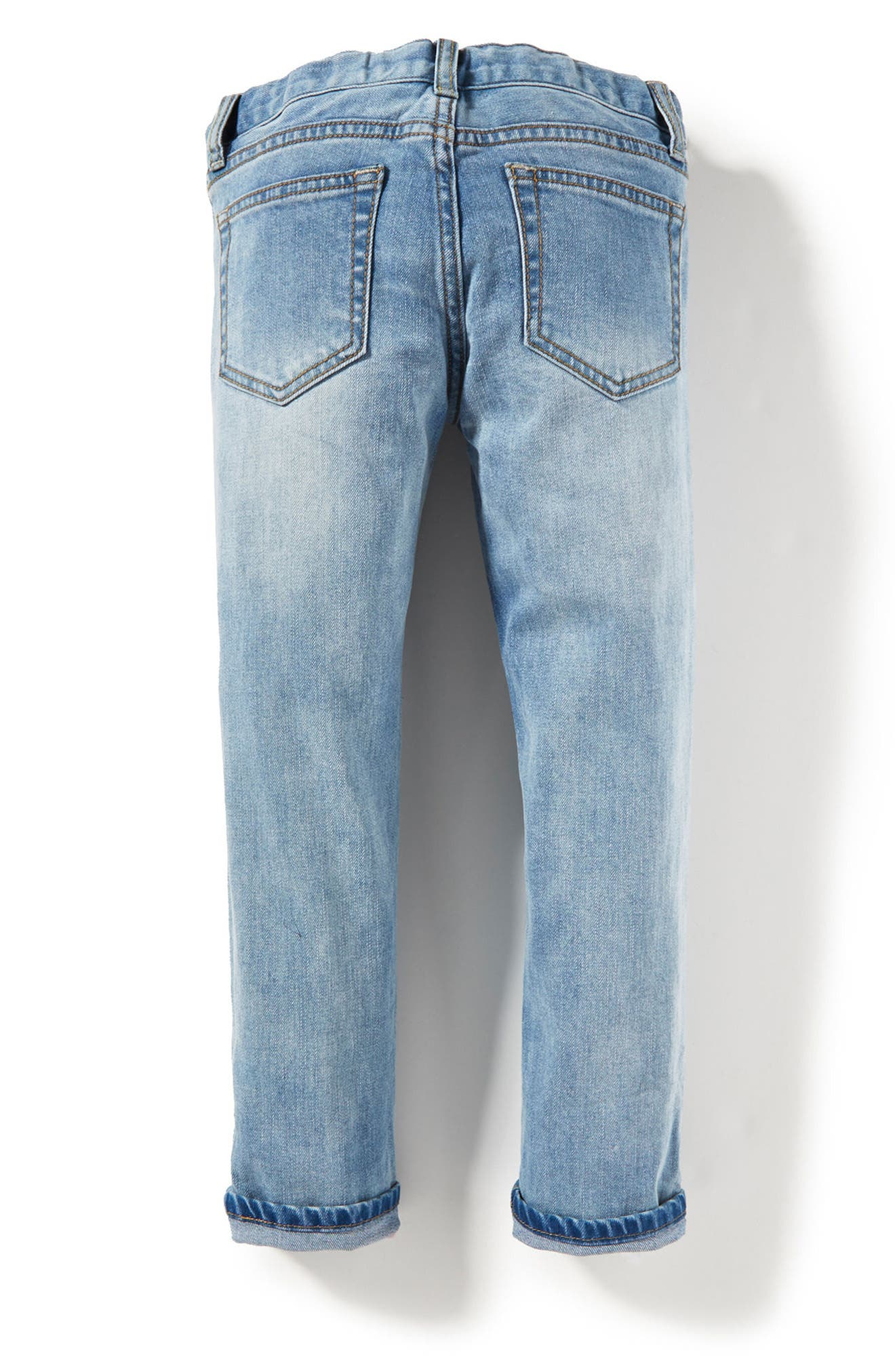 Greta Patch Skinny Jeans,                             Alternate thumbnail 2, color,                             Medium Authentic