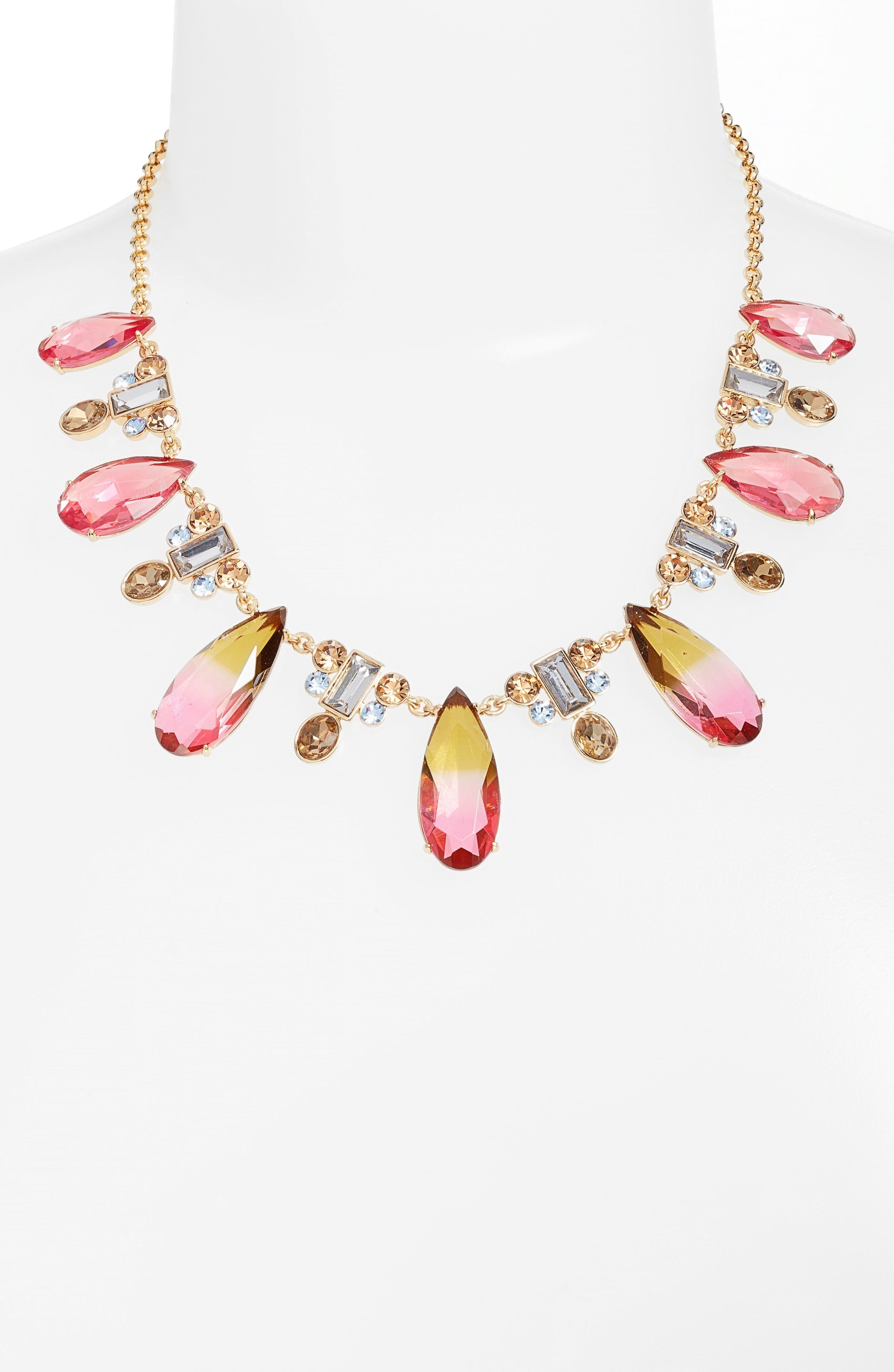 Alternate Image 2  - kate spade new york light up crystal collar necklace