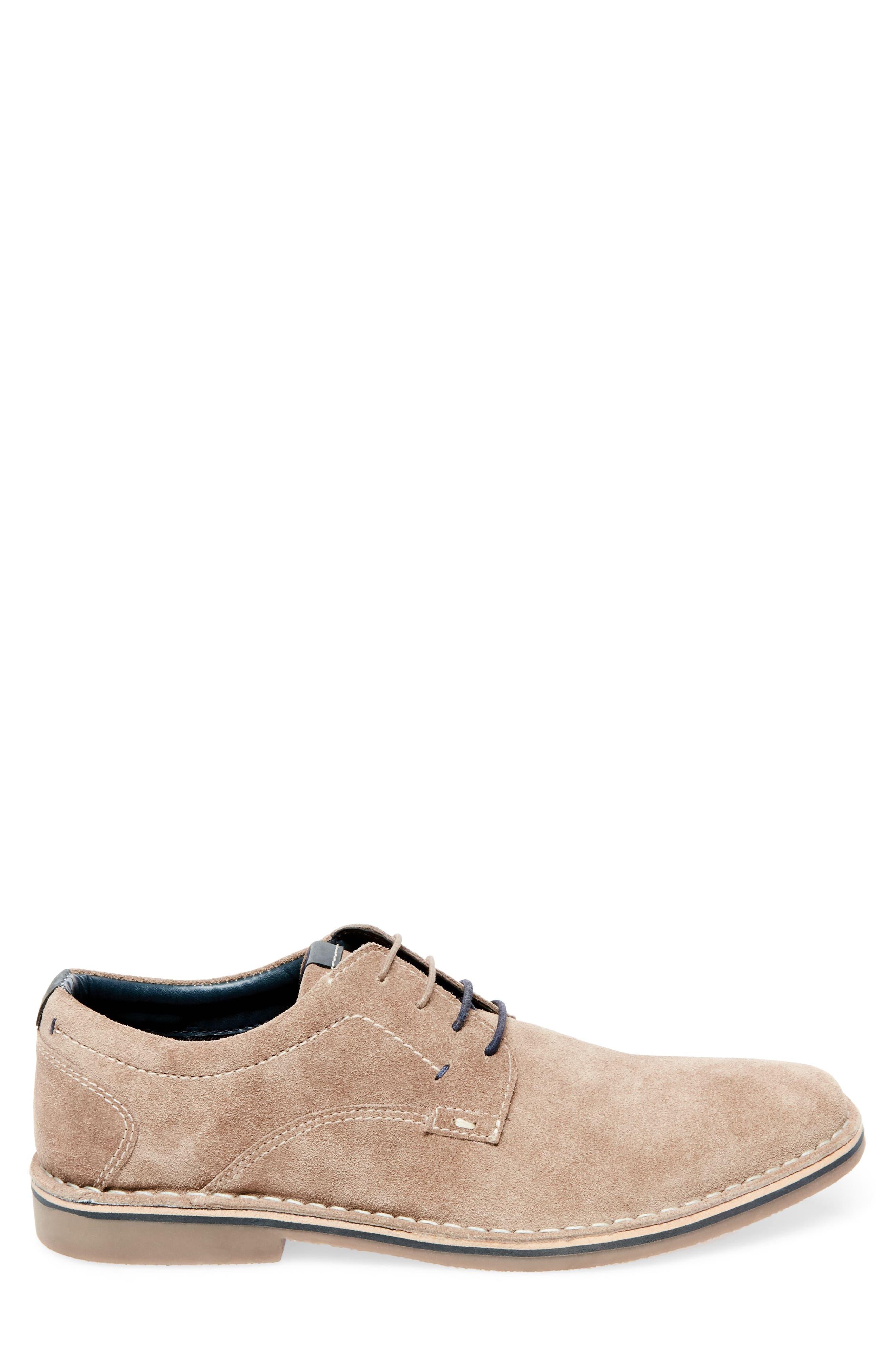 Hatrick Buck Shoe,                             Alternate thumbnail 3, color,                             Taupe Suede