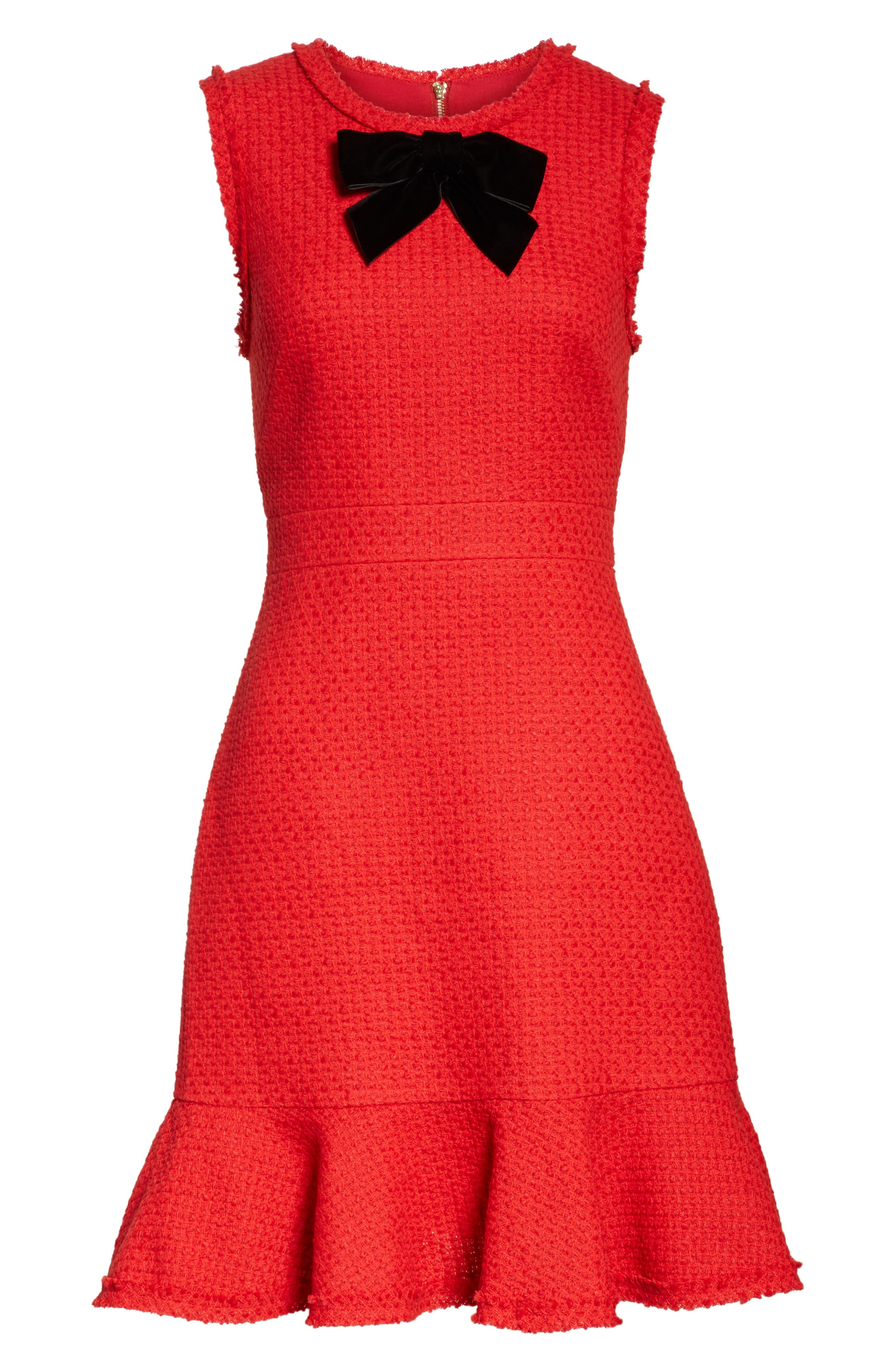Alternate Image 6  - kate spade new york ruffle hem tweed dress