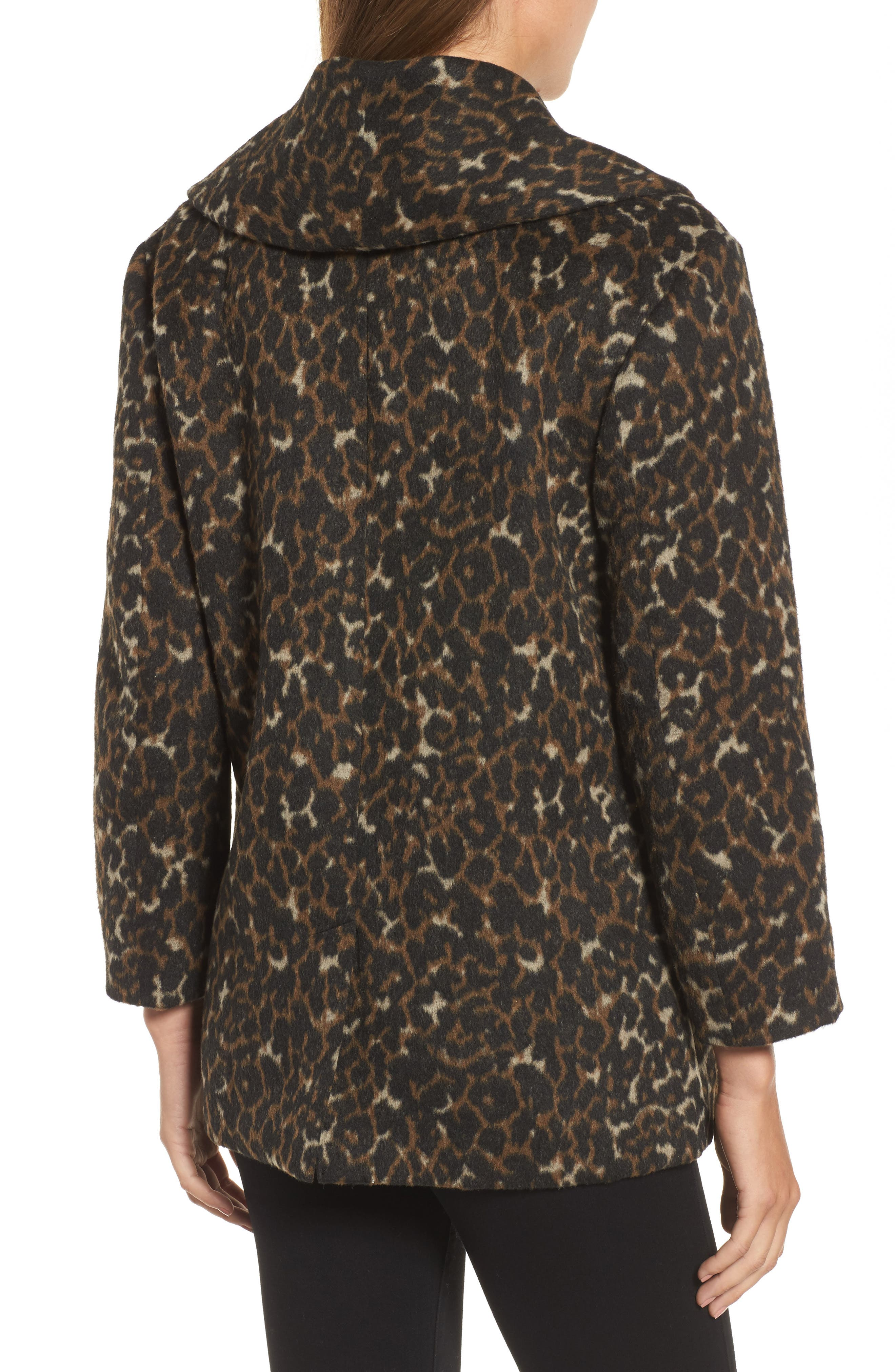 Alternate Image 2  - Hinge Animal Print Coat