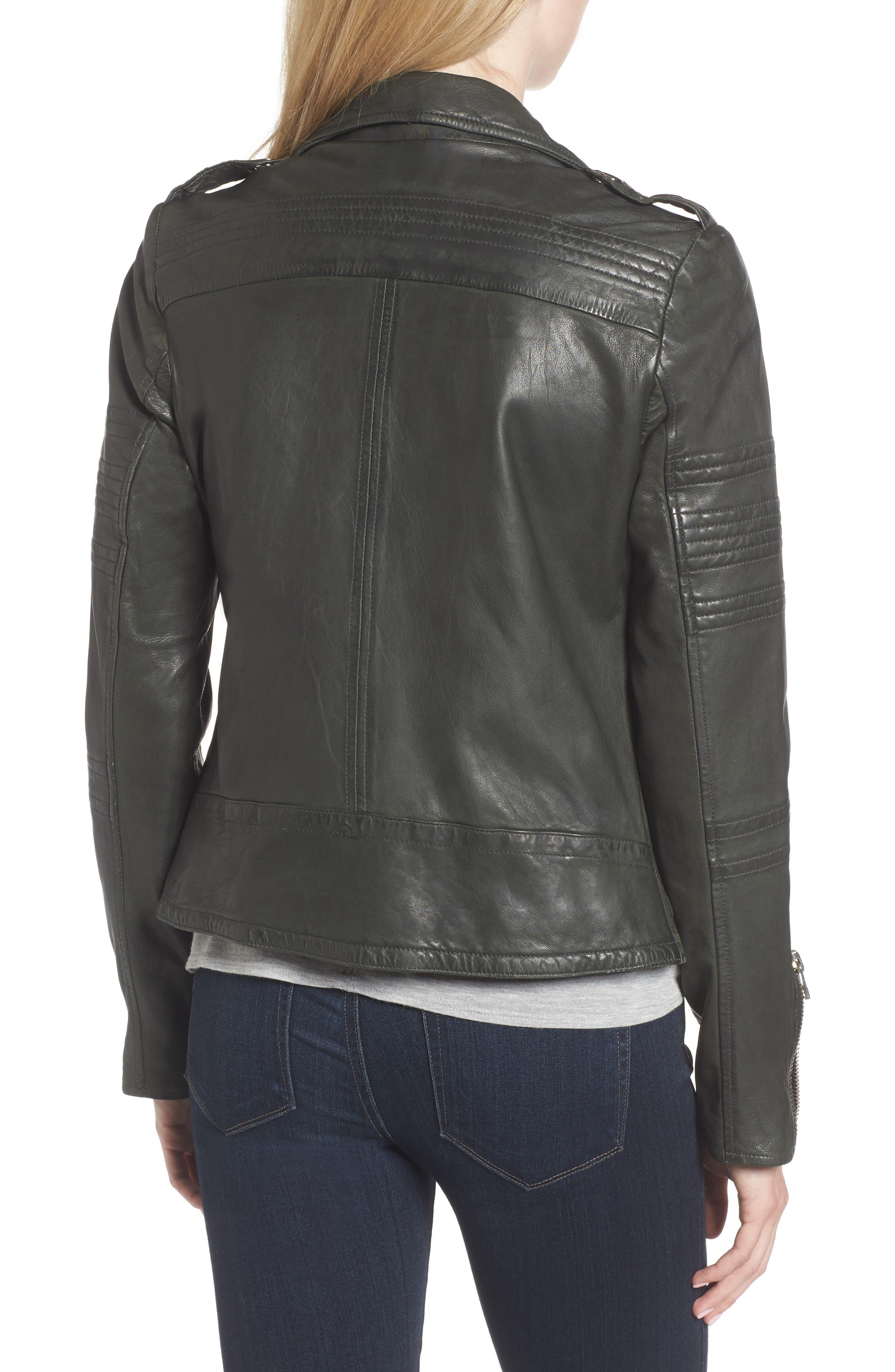 Alternate Image 2  - Goosecraft Double Zip Moto Jacket