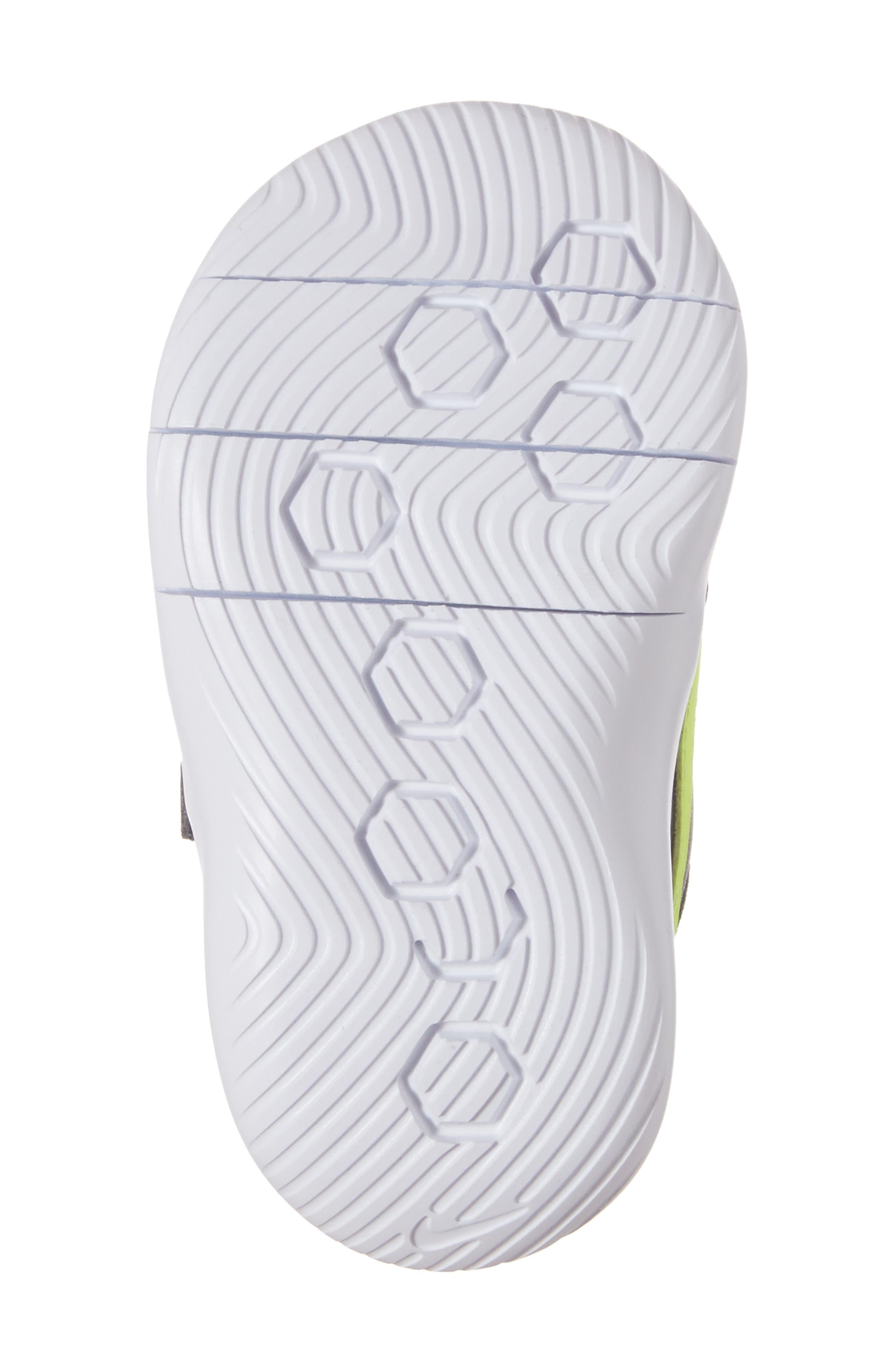 Alternate Image 6  - Nike Flex Contact Sneaker (Baby, Walker & Toddler)