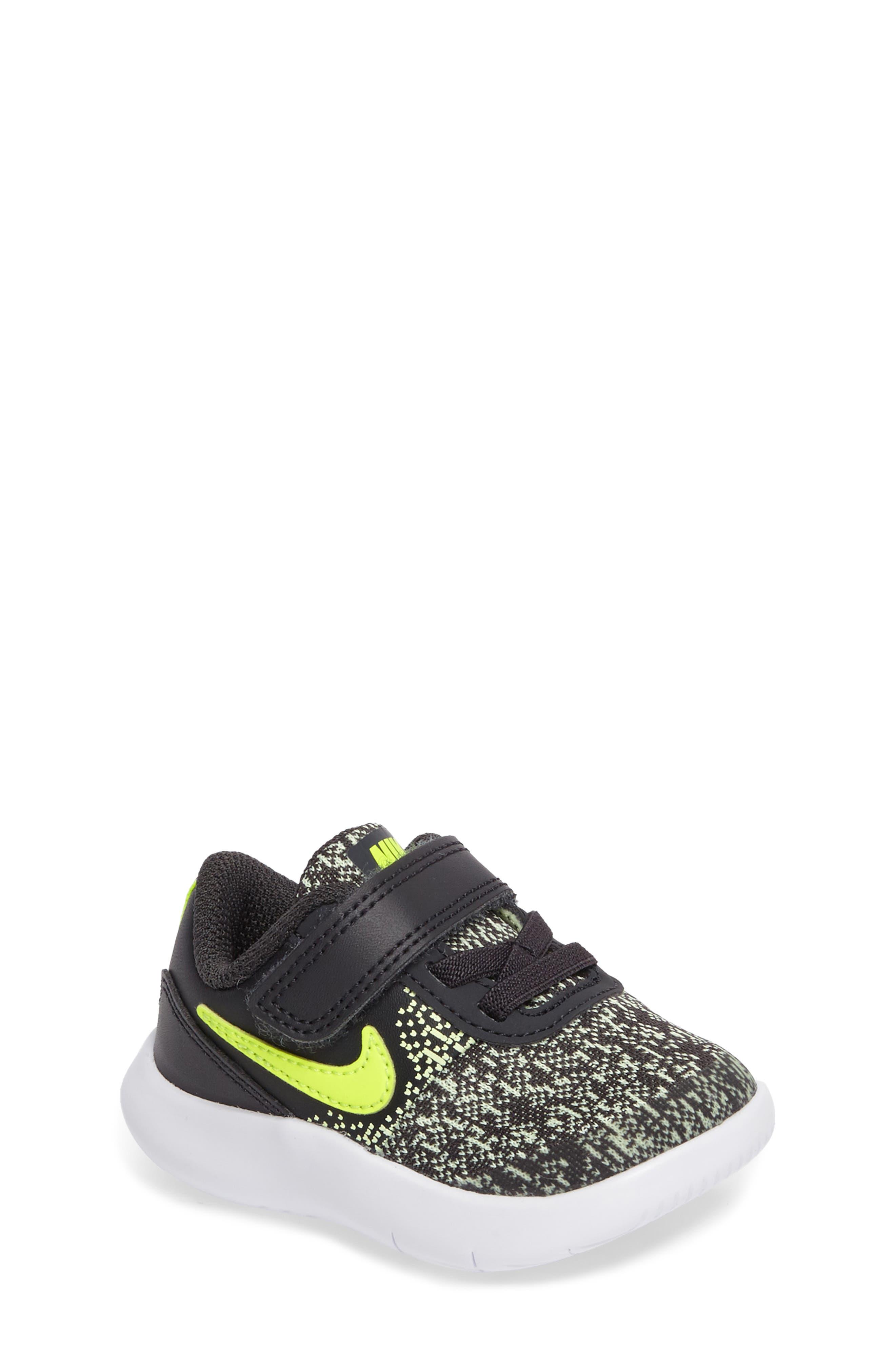 Alternate Image 1 Selected - Nike Flex Contact Sneaker (Baby, Walker & Toddler)
