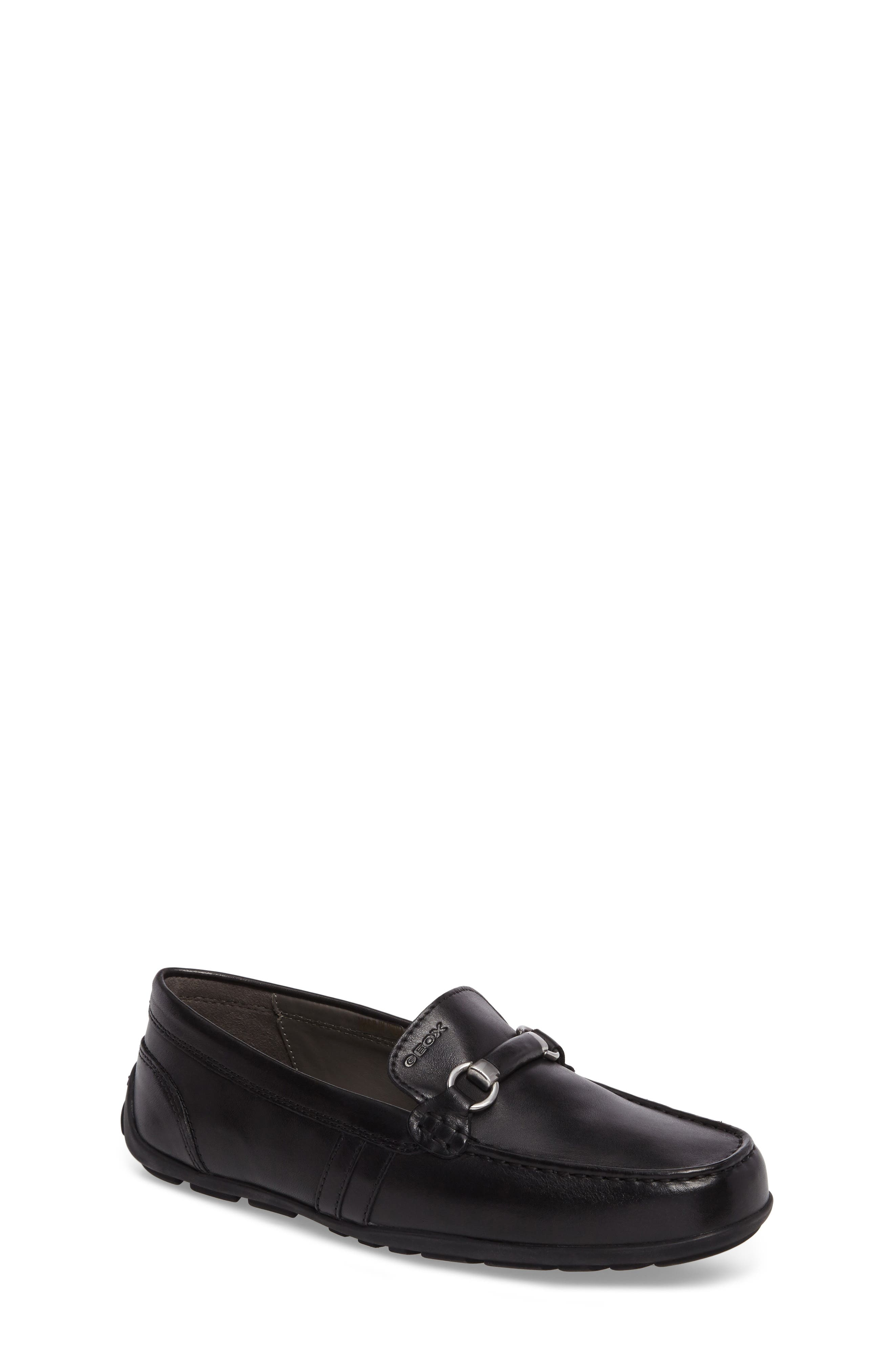 Alternate Image 1 Selected - Geox 'Fast 16' Bit Loafer (Toddler, Little Kid & Big Kid)